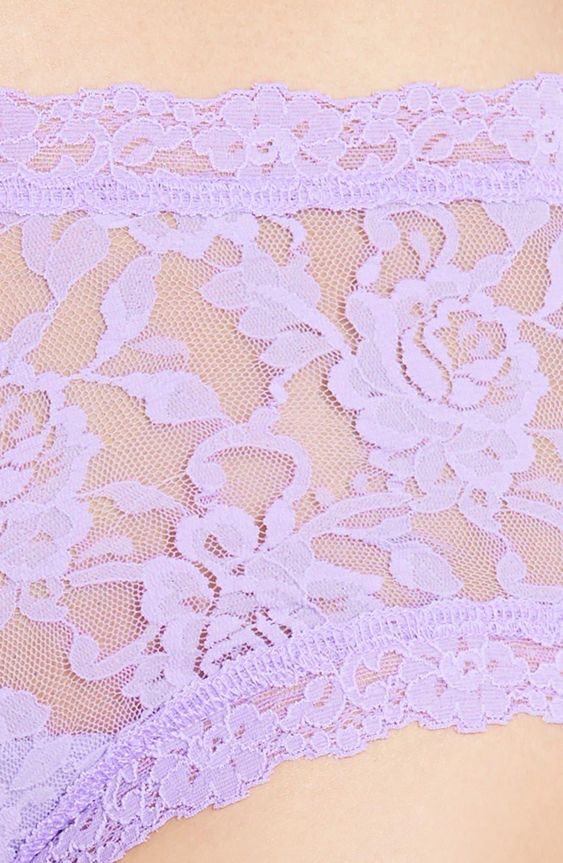 'Signature Lace' Boyshorts,                             Alternate thumbnail 405, color,