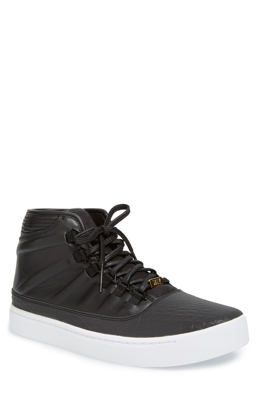 'Jordan - Westbrook 0' High Top Sneaker,                             Main thumbnail 1, color,                             001