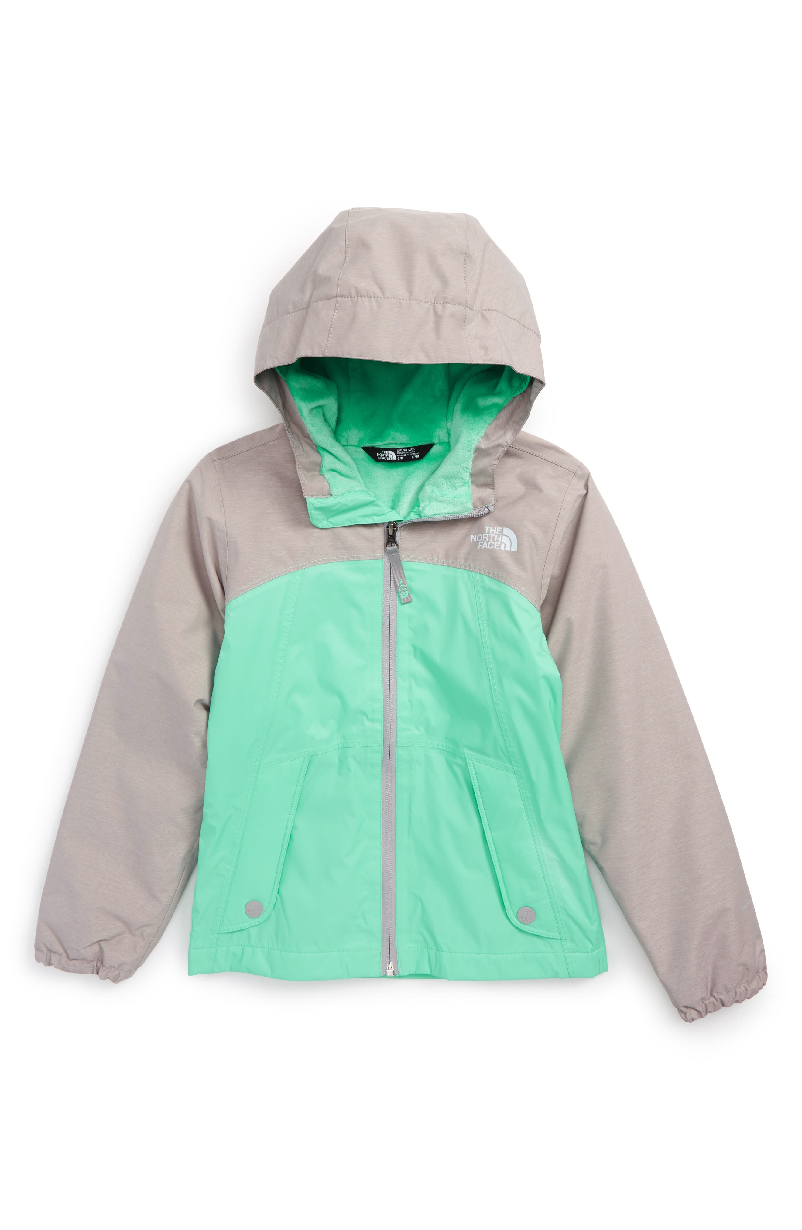 Warm Storm Hooded Waterproof Jacket,                             Main thumbnail 2, color,