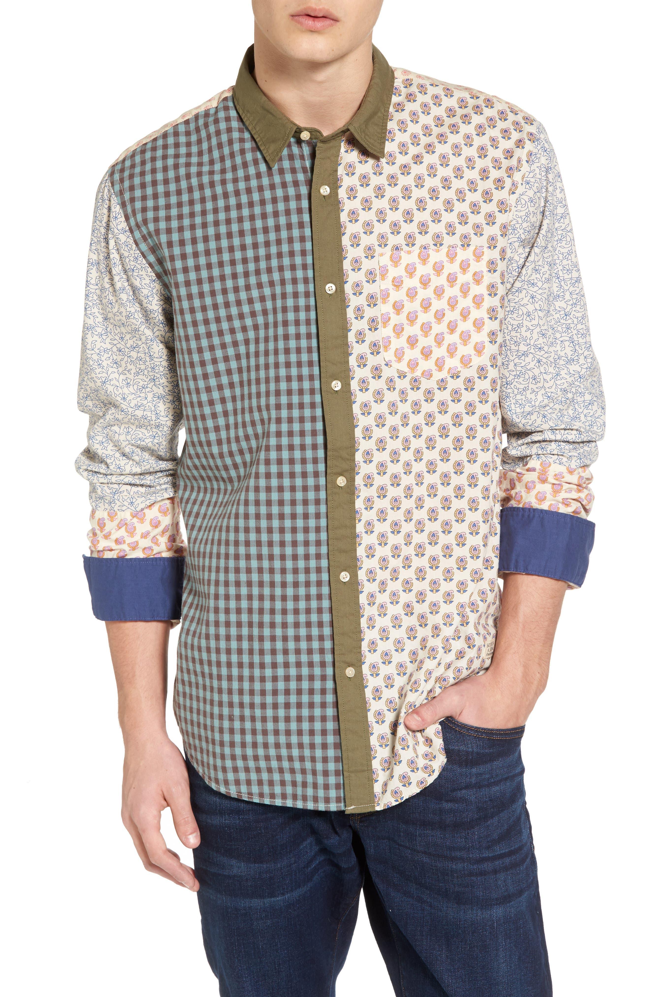 Mix & Match Sport Shirt,                         Main,                         color, 100