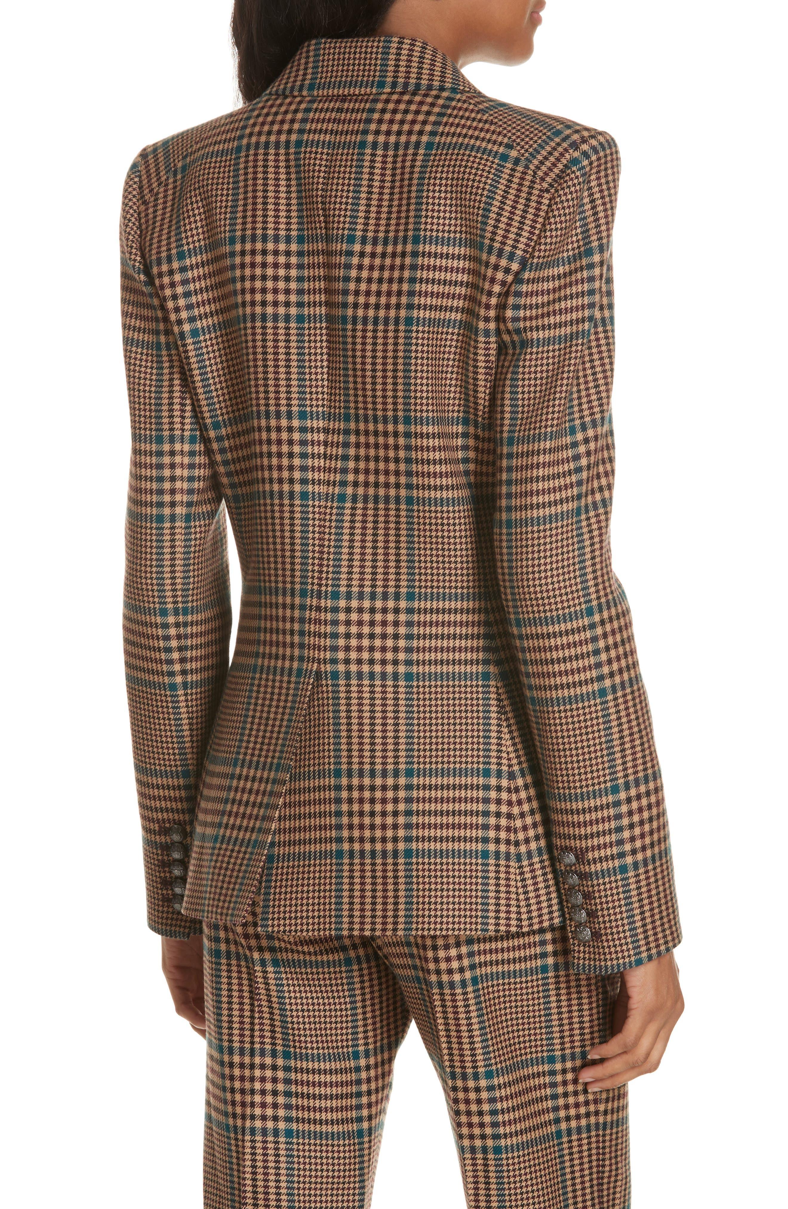 Miller Wool Blend Dickey Jacket,                             Alternate thumbnail 2, color,                             PETROL MULTI