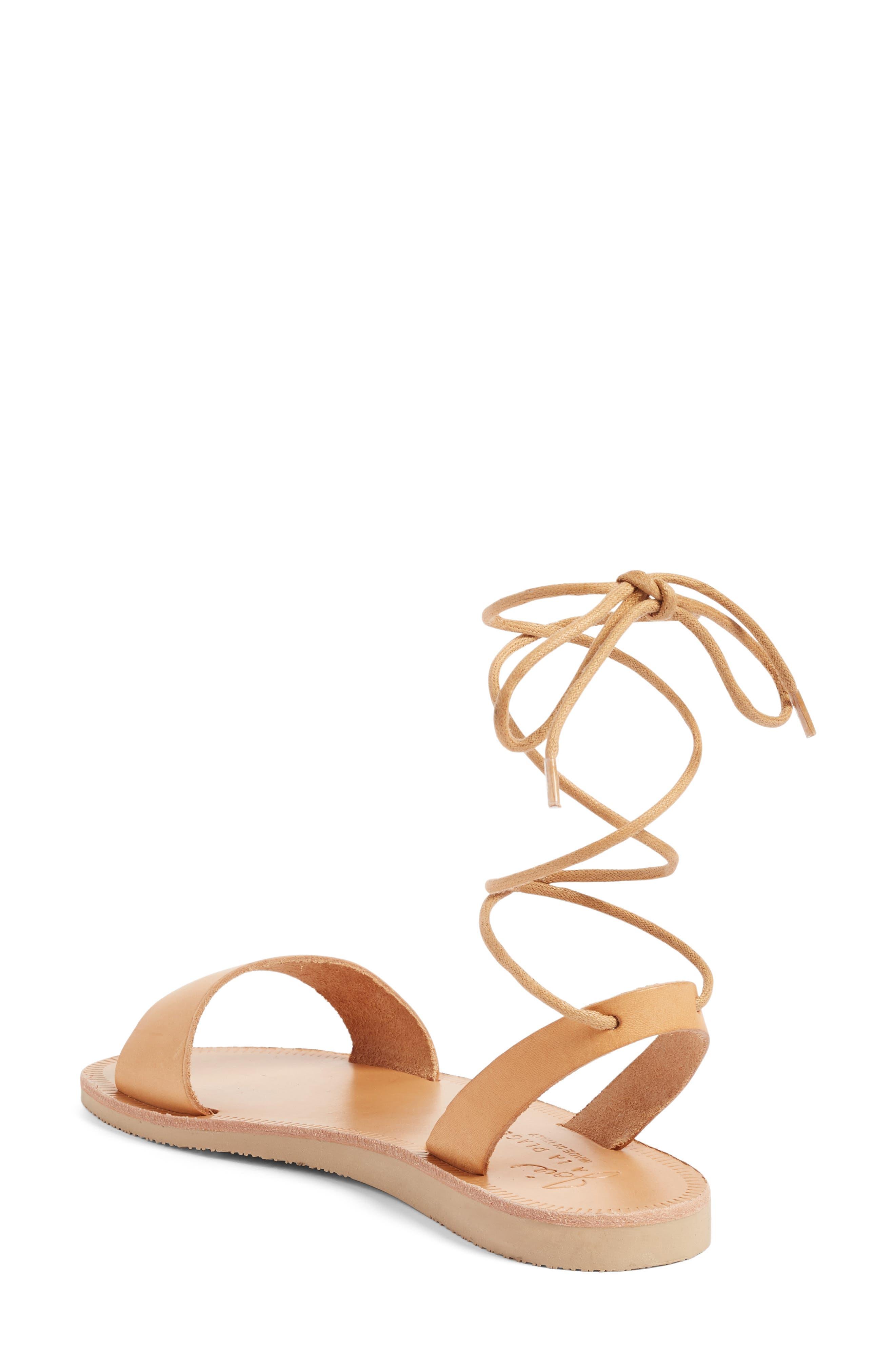 Pietra Ankle Wrap Sandal,                             Alternate thumbnail 3, color,