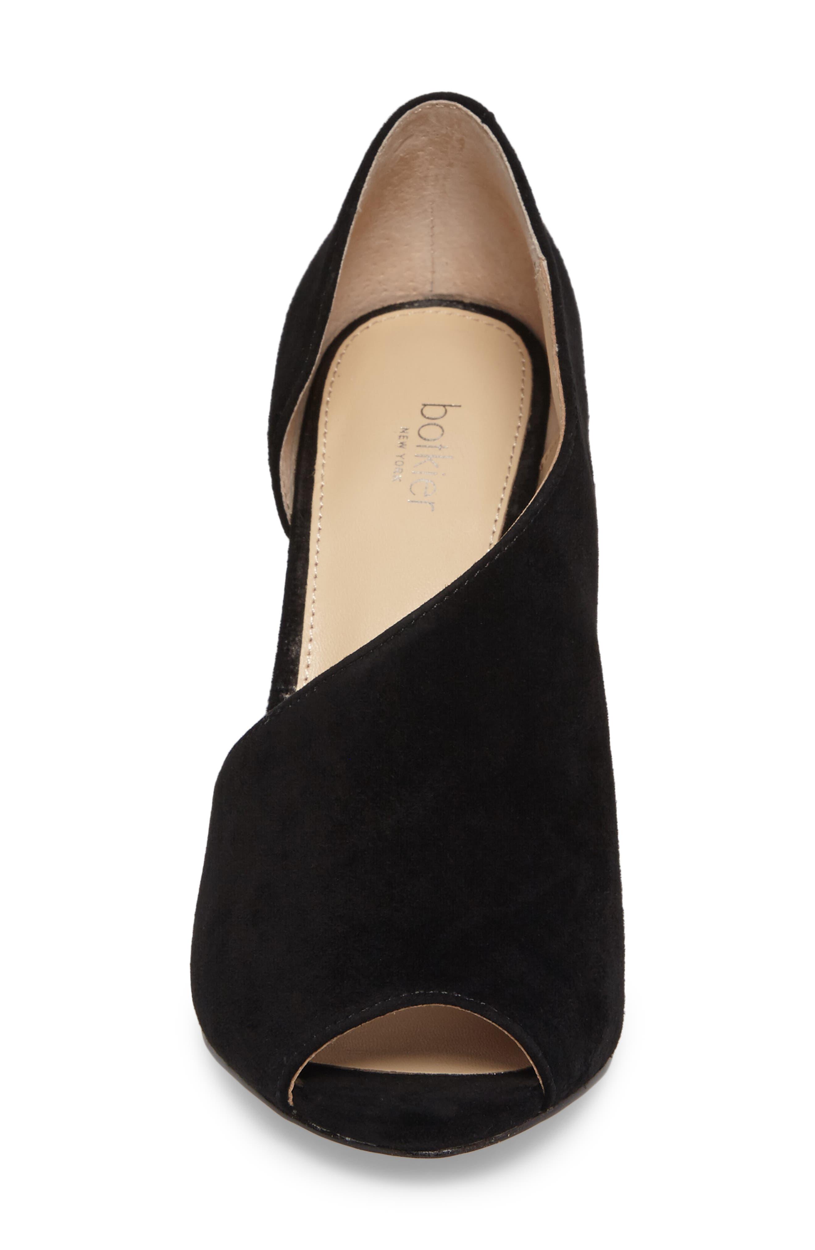 Adelia Asymmetrical Sandal,                             Alternate thumbnail 4, color,                             BLACK
