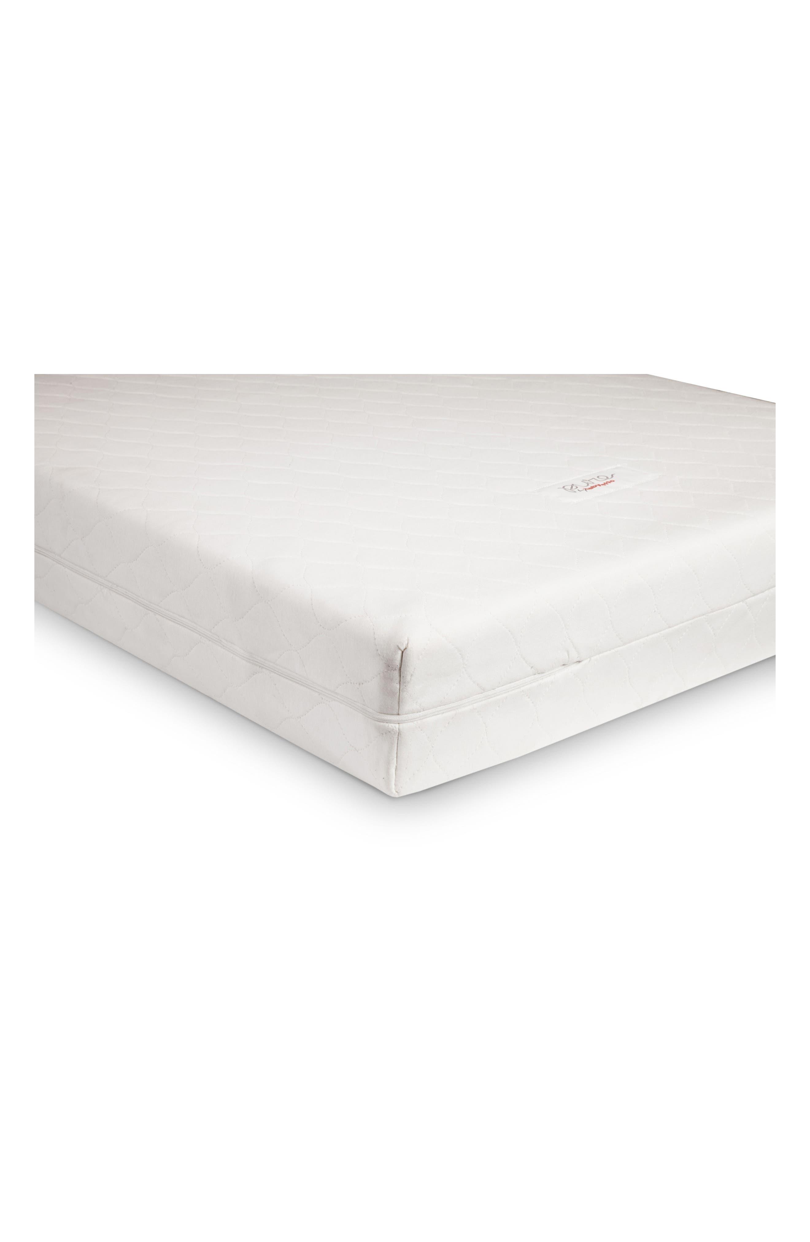 Pure Core Crib Mattress & Cover,                         Main,                         color, WHITE