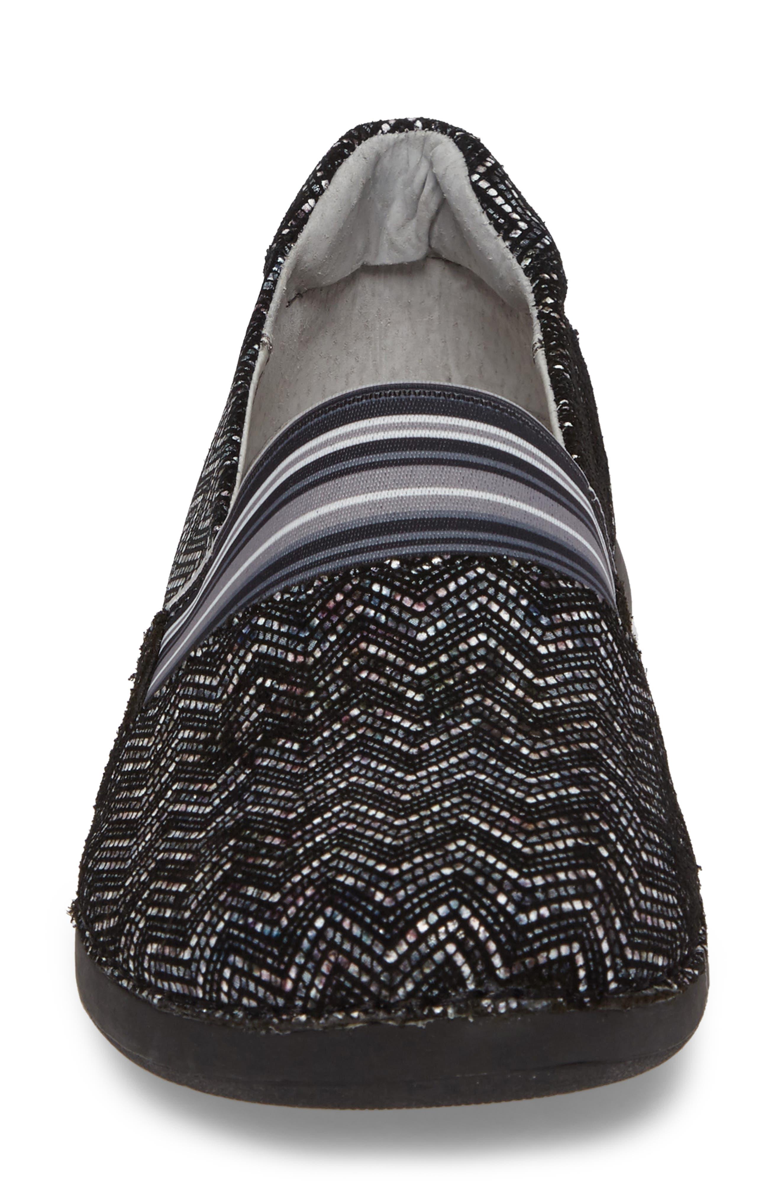 Glee Slip-On Sneaker,                             Alternate thumbnail 4, color,                             001