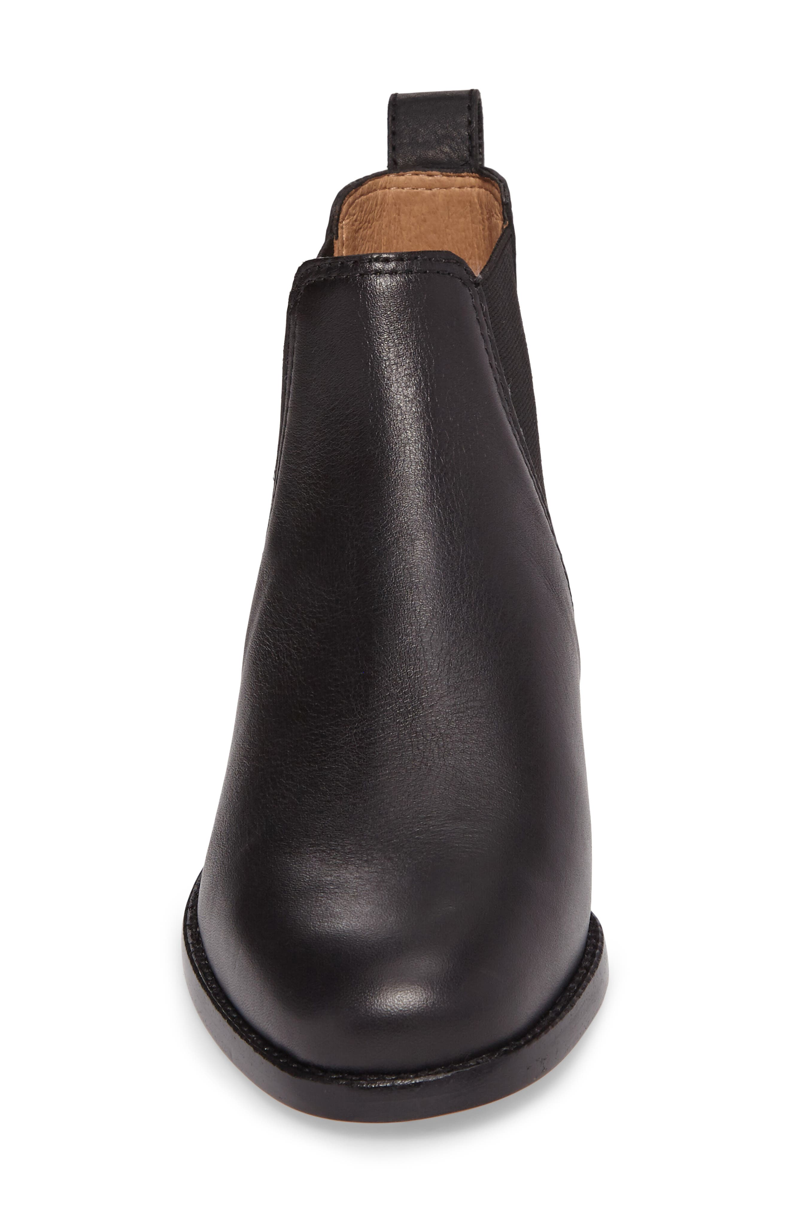 The Ainsley Chelsea Boot,                             Alternate thumbnail 4, color,                             001