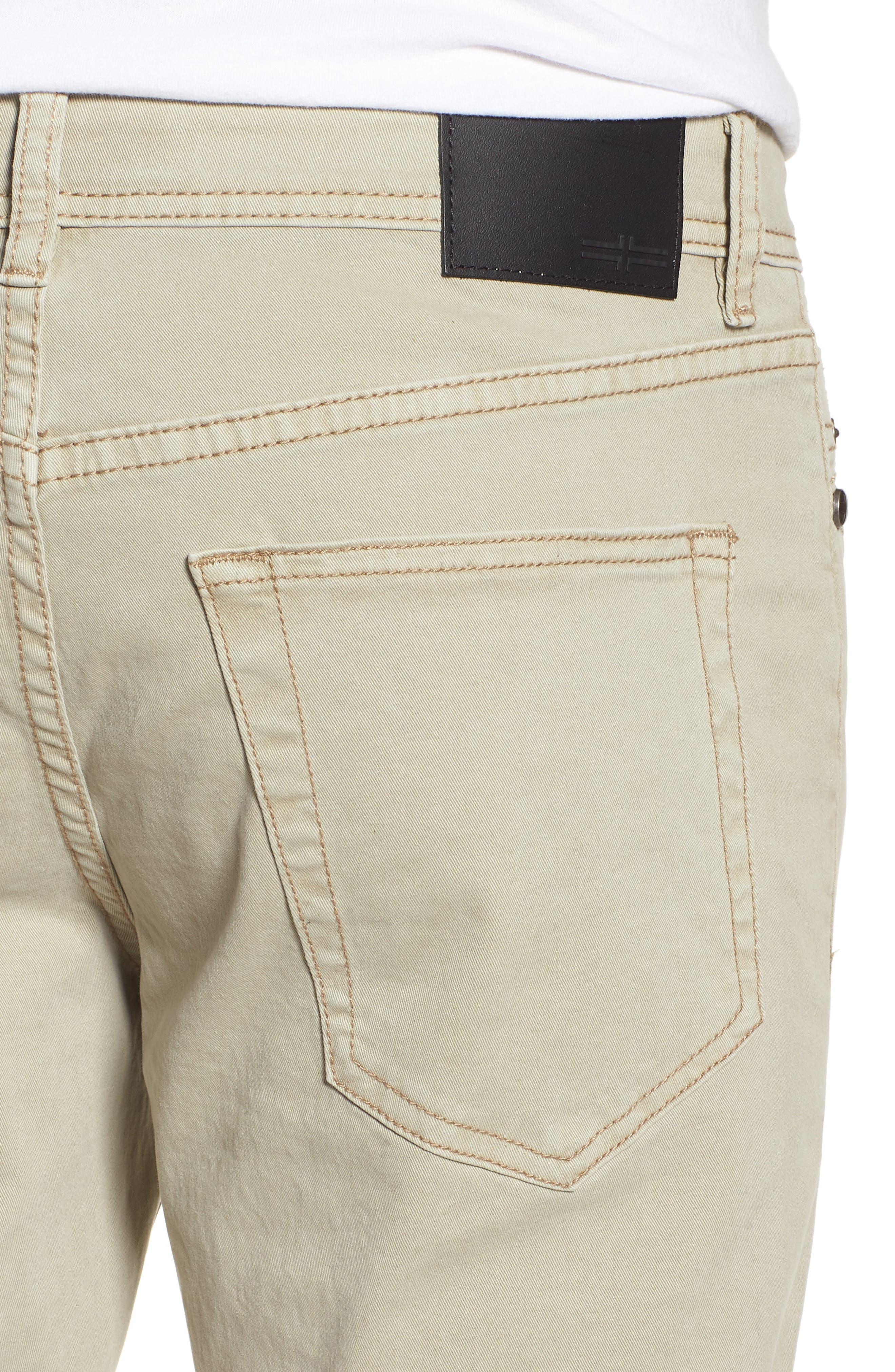 Jeans Co. Kingston Slim Straight Leg Jeans,                             Alternate thumbnail 5, color,                             SANDSTROM