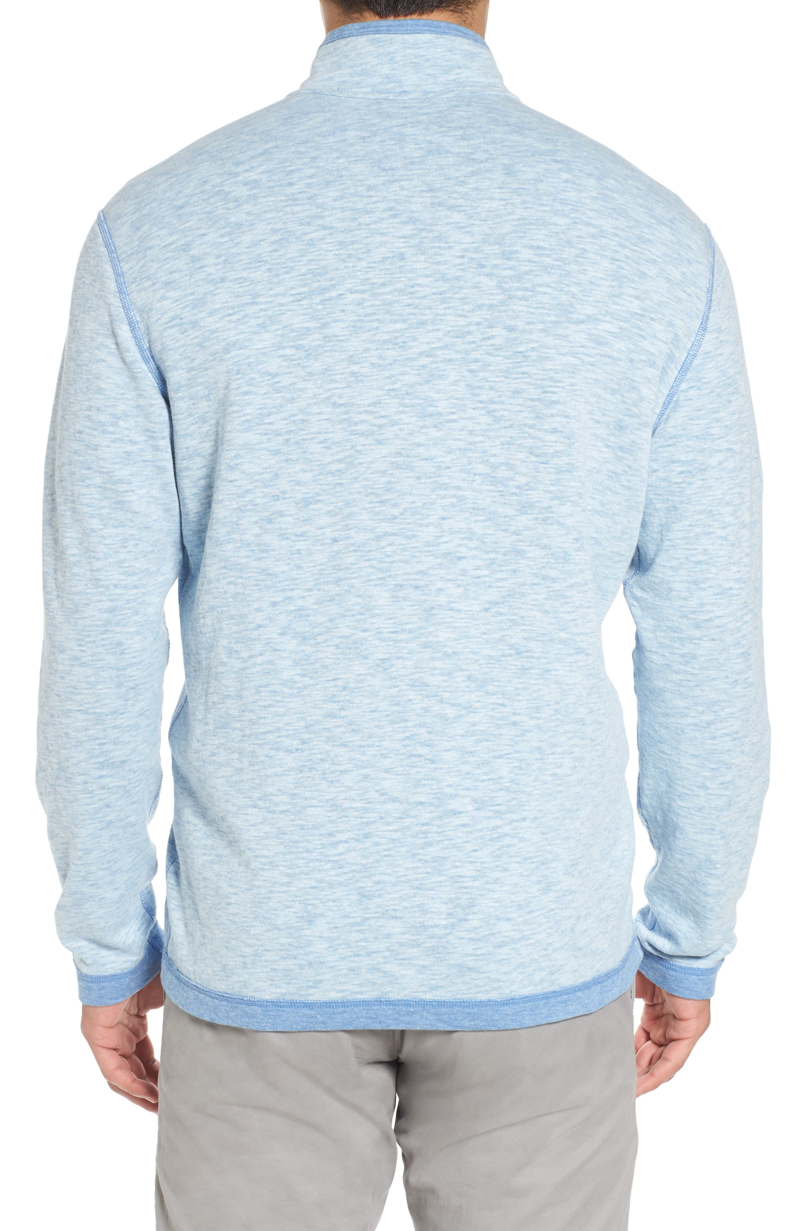 Sea Glass Reversible Quarter Zip Pullover,                             Alternate thumbnail 22, color,
