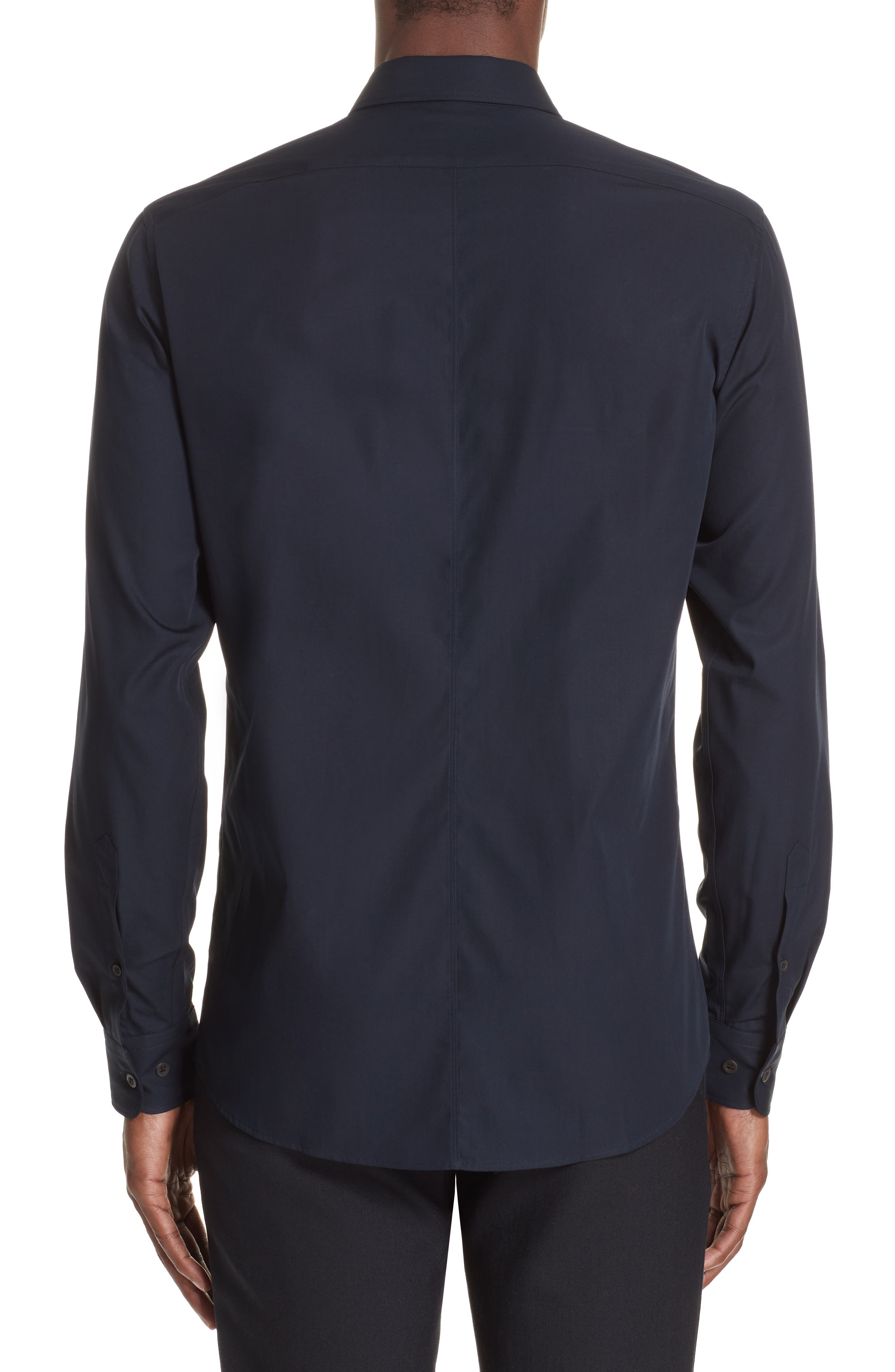 Corbin Sport Shirt,                             Alternate thumbnail 2, color,                             MIDNIGHT
