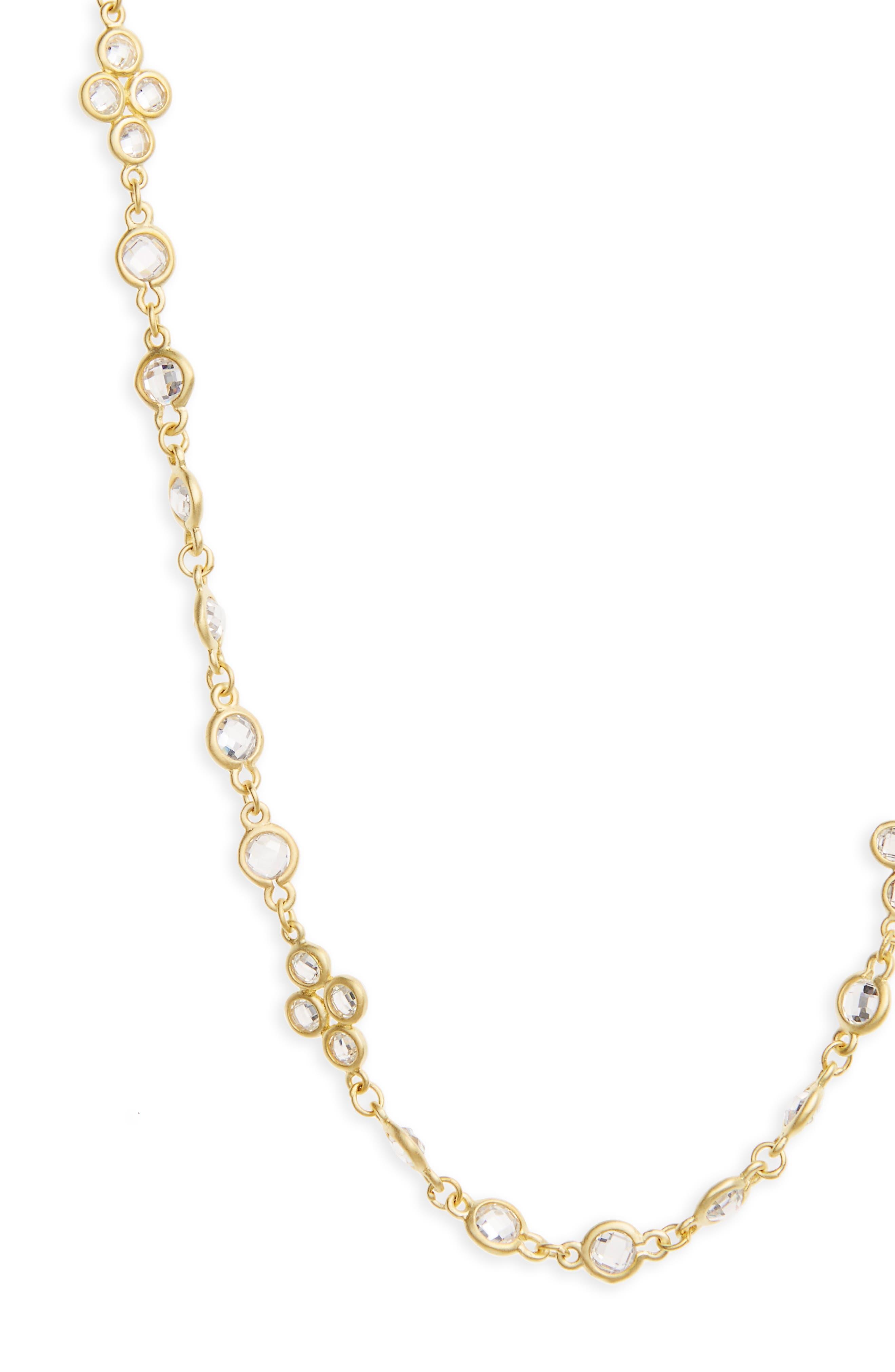 Cubic Zirconia Necklace,                             Alternate thumbnail 2, color,                             710
