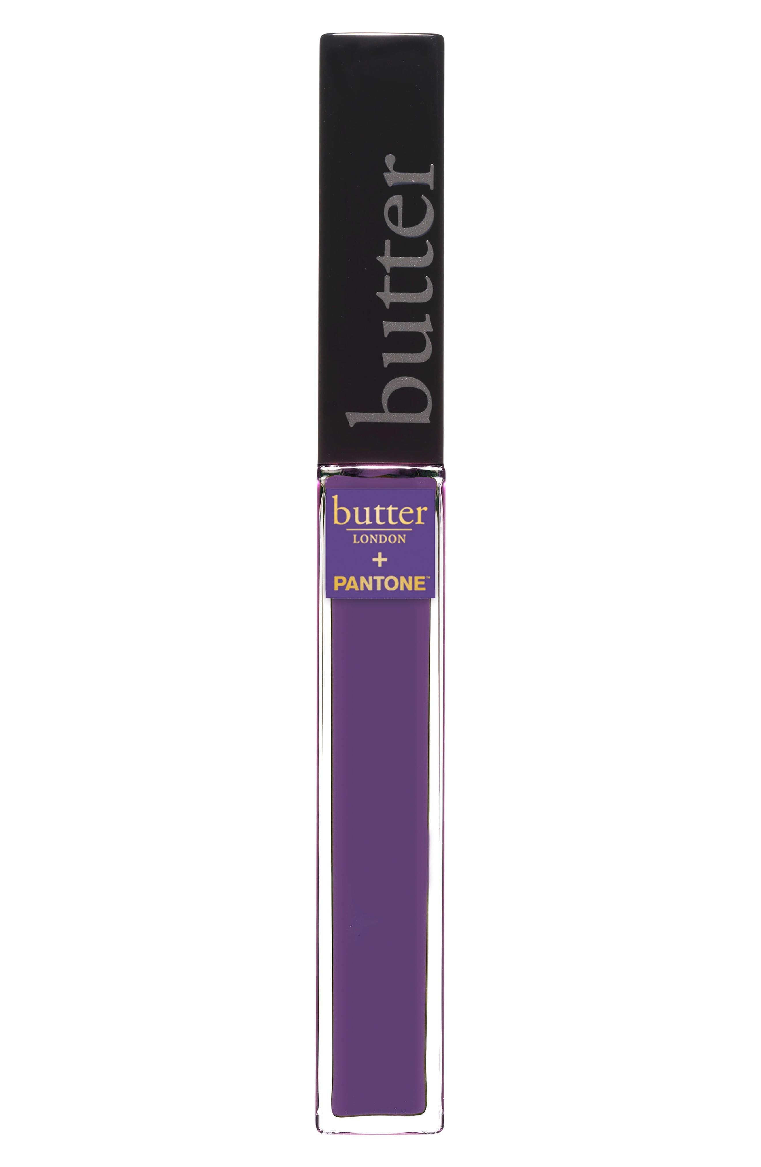+ Pantone<sup>™</sup> Color of the Year 2018 Plush Rush Lip Gloss,                             Main thumbnail 1, color,                             ULTRA VIOLET
