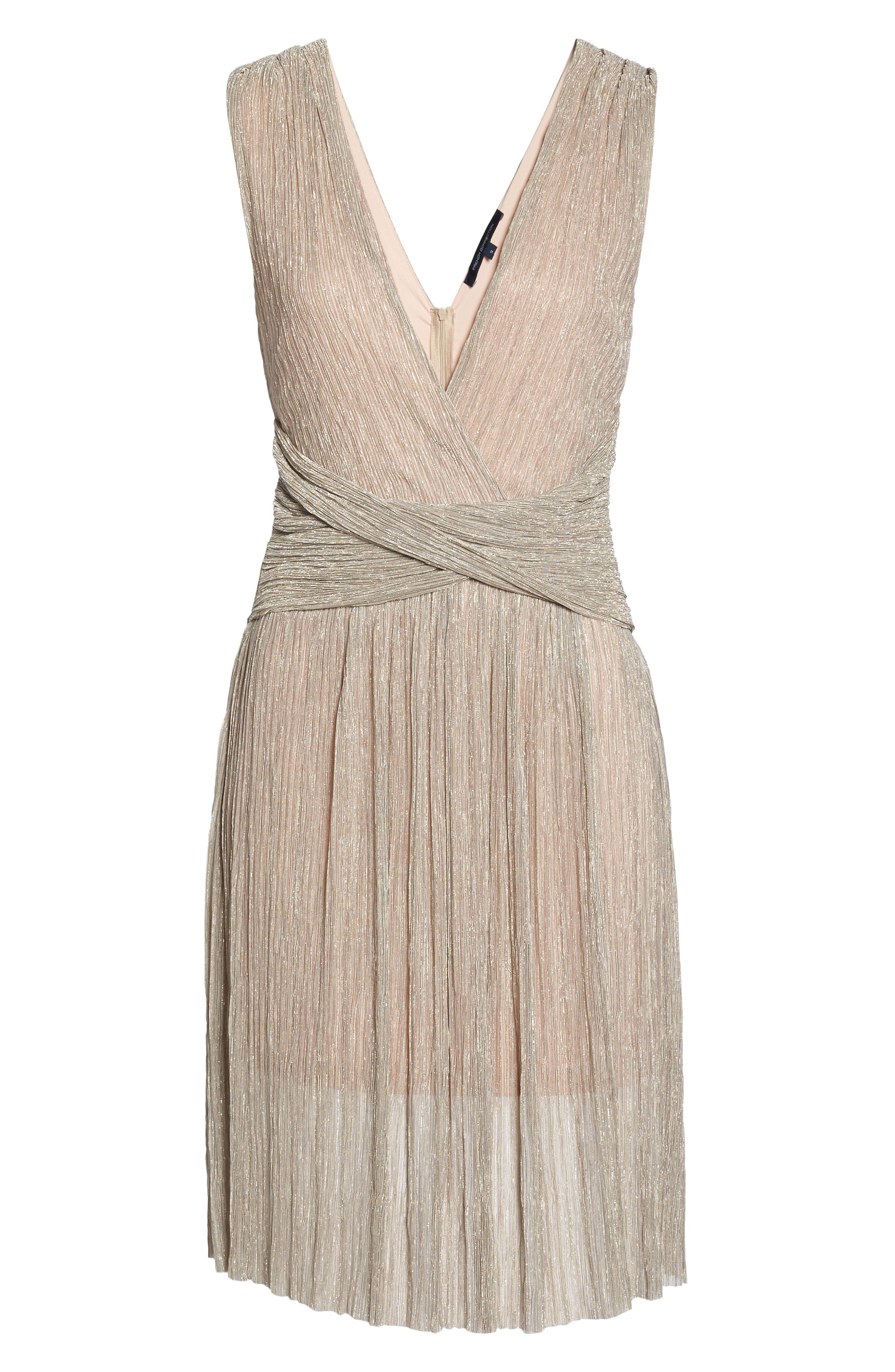 Marcelle Fit & Flare Dress,                             Alternate thumbnail 12, color,