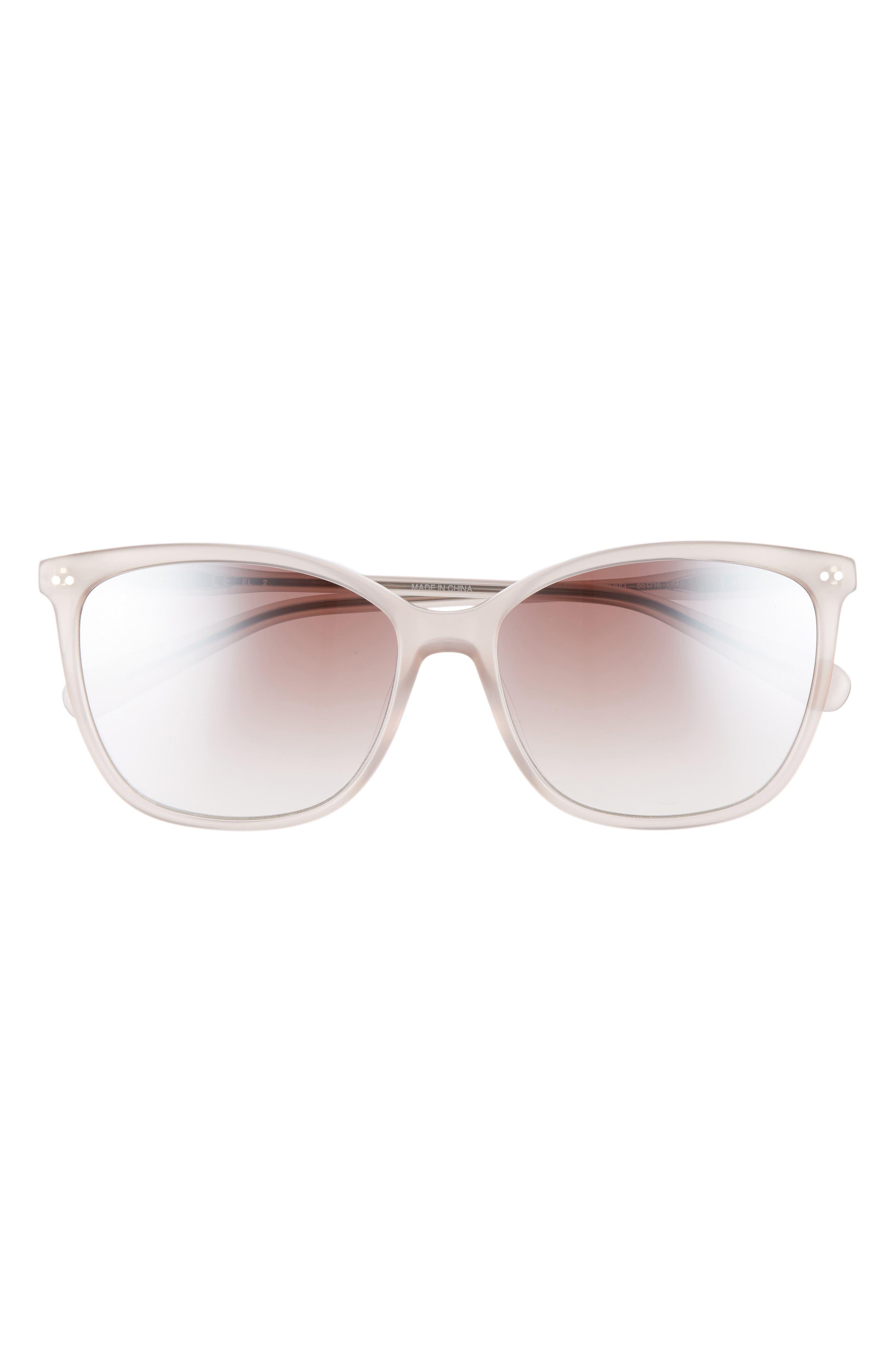 The Lara 56mm Cat Eye Sunglasses,                             Alternate thumbnail 10, color,