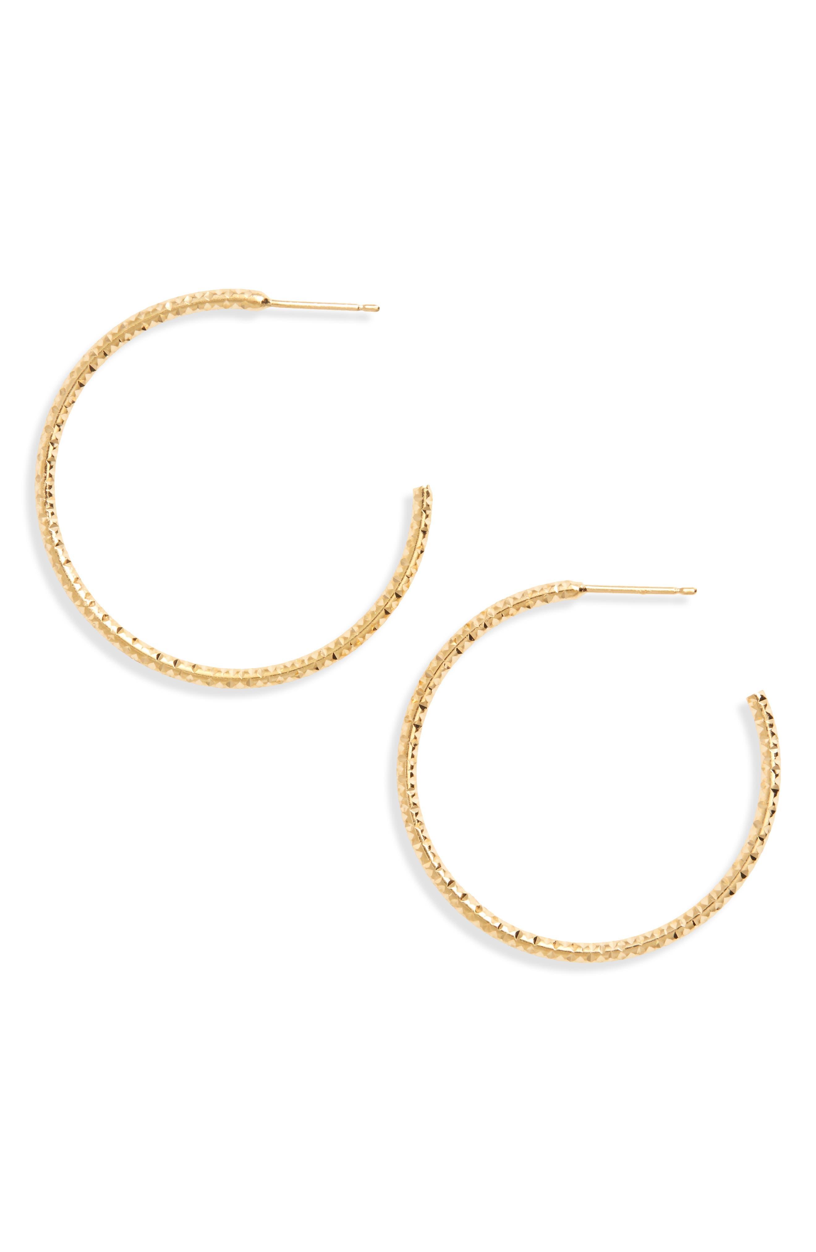 Selena Hoop Earrings,                             Main thumbnail 1, color,                             710