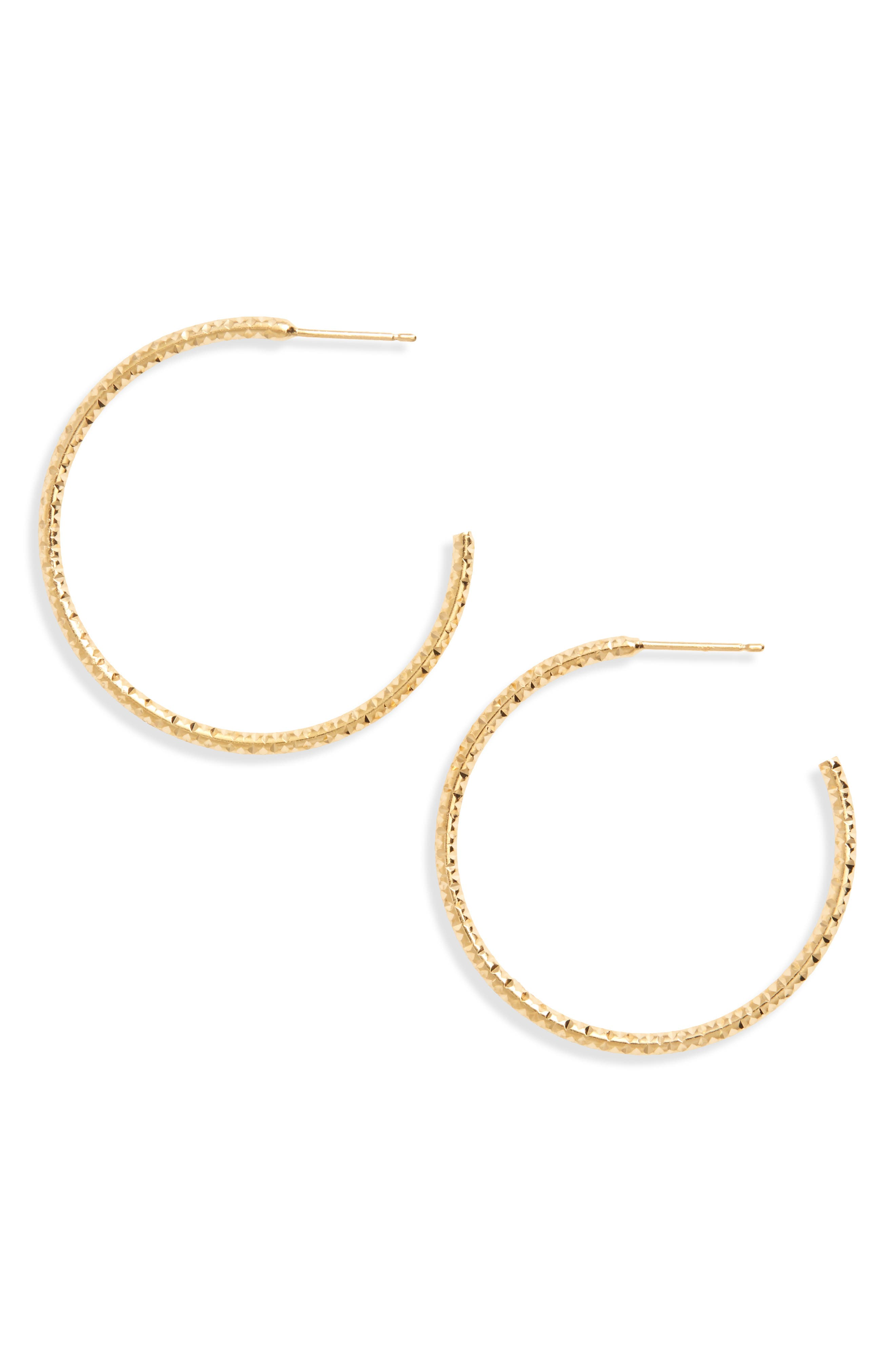 Selena Hoop Earrings, Main, color, 710