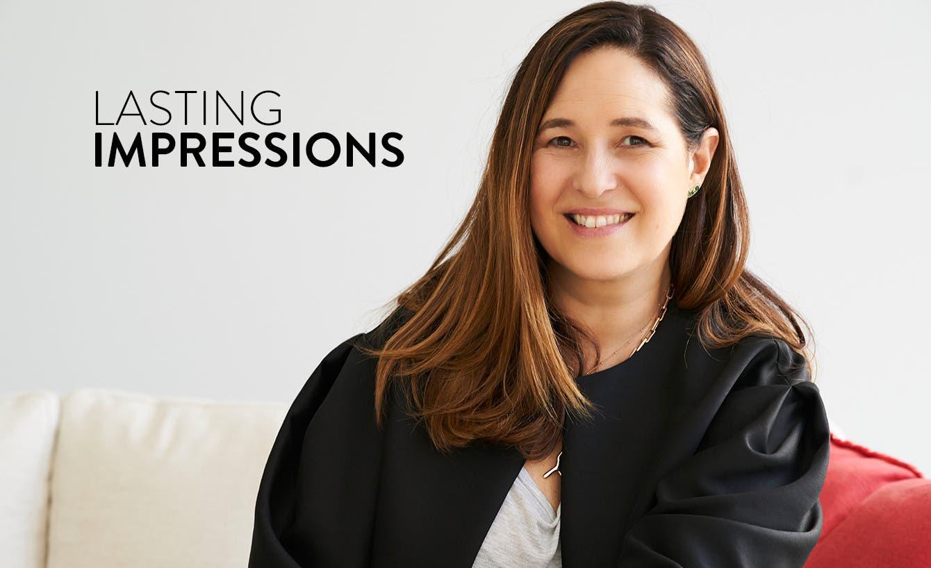 Jewelry designer Monica Vinader.