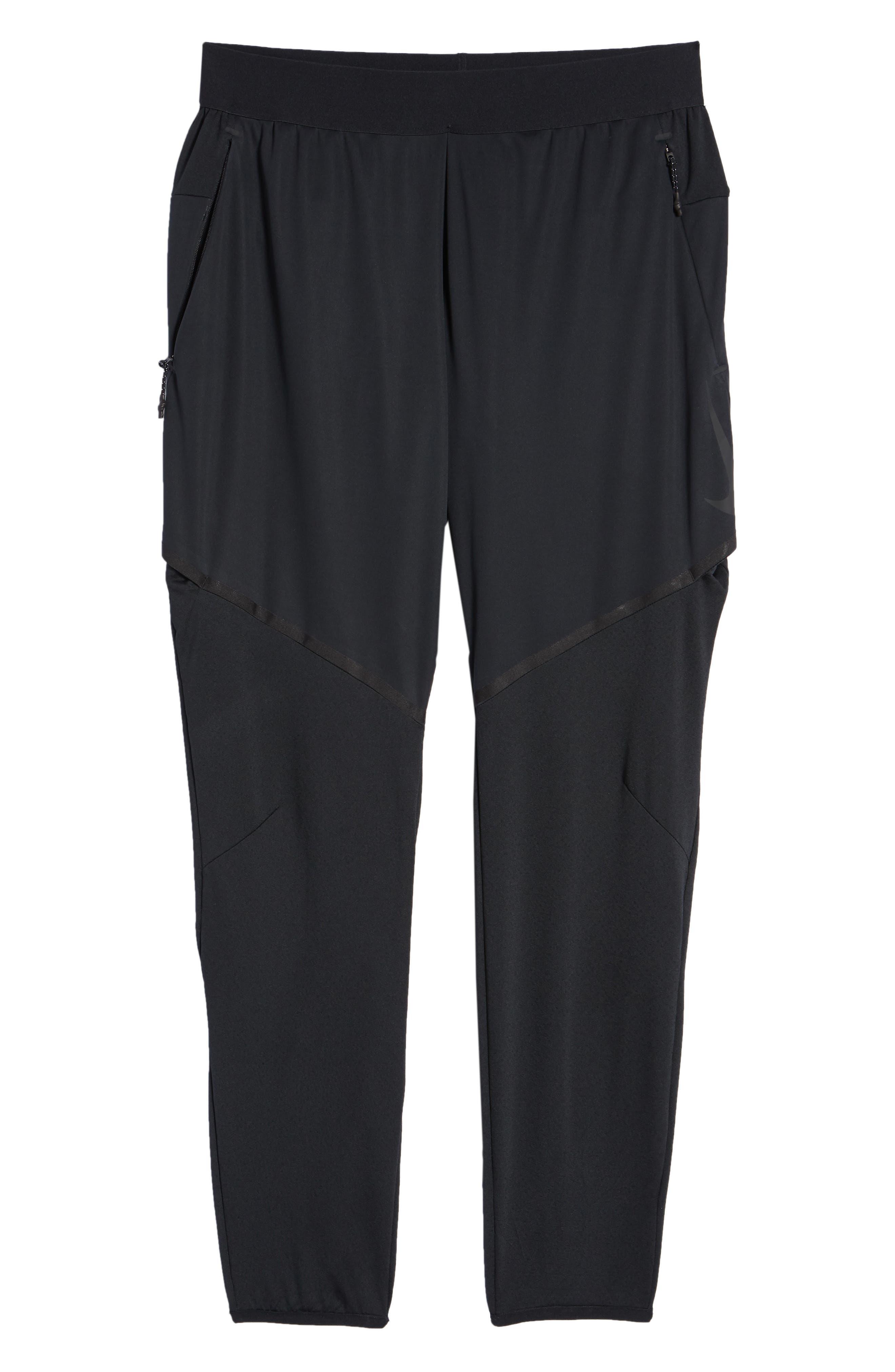 Training Flex Pants,                             Alternate thumbnail 6, color,                             BLACK/ BLACK