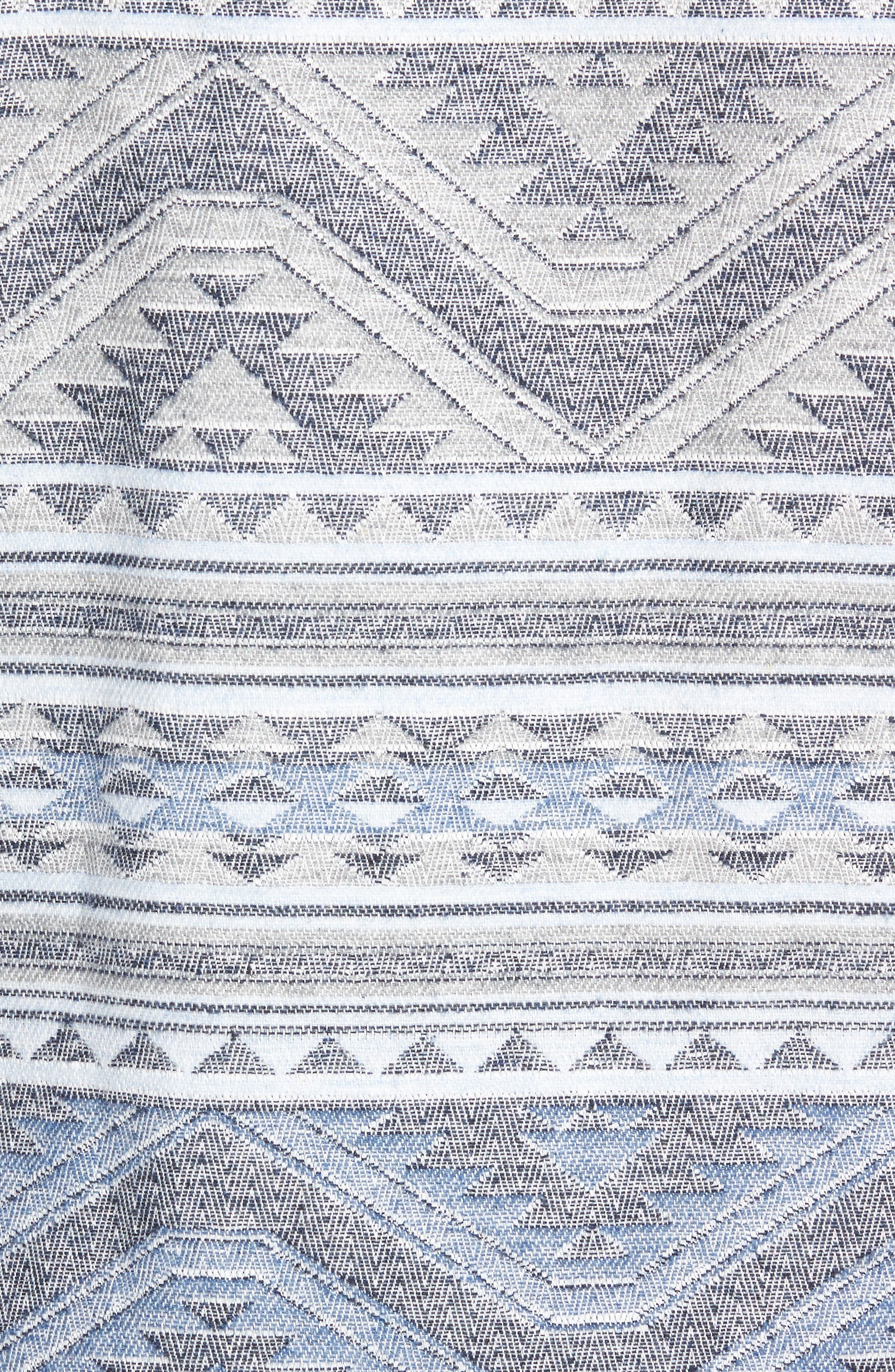 Durango CPO Cotton Work Shirt,                             Alternate thumbnail 7, color,                             TWILIGHT GLACIER