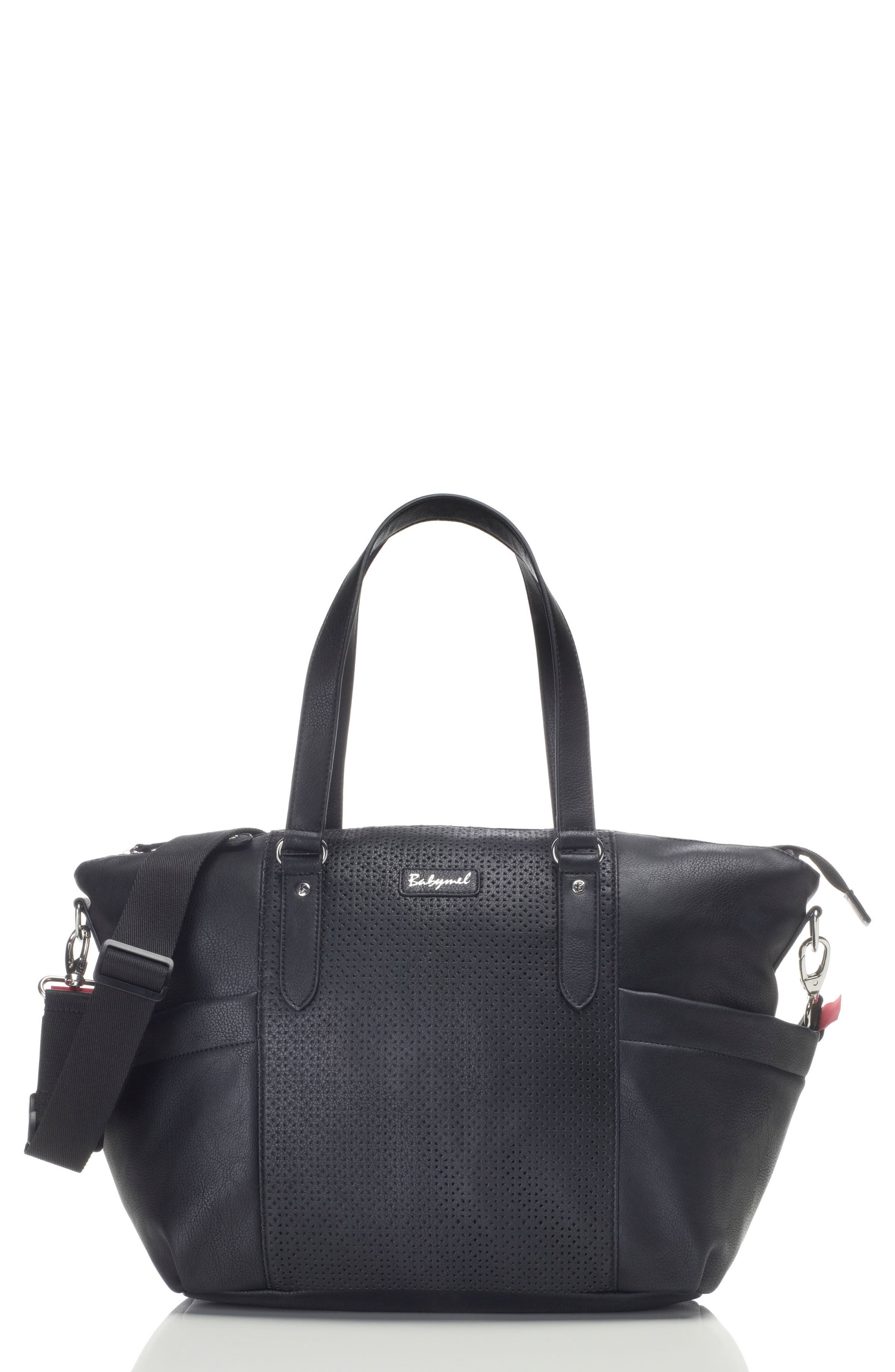 Anya Diaper Bag,                         Main,                         color, BLACK