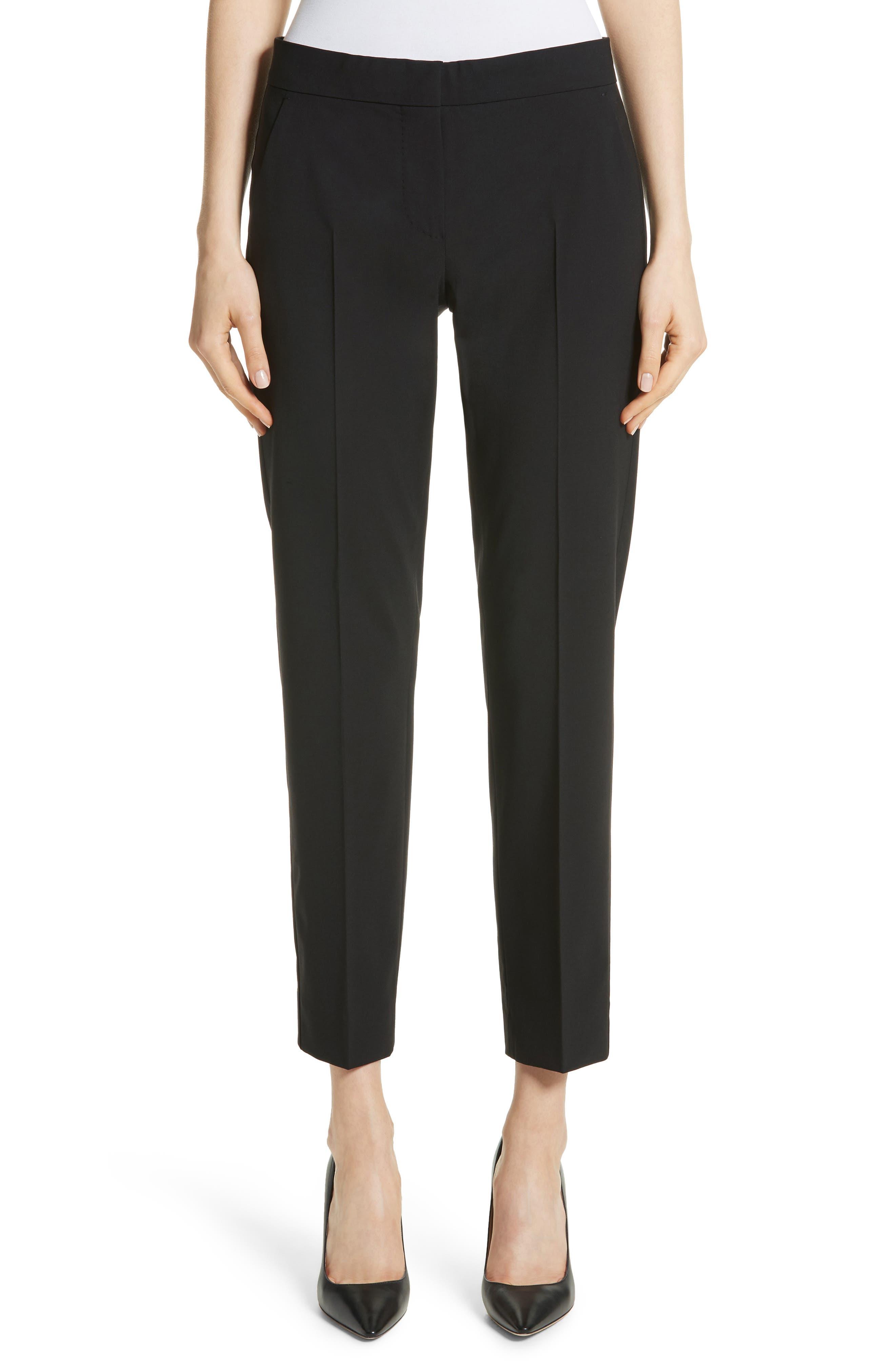 Giga Stretch Wool Crop Pants,                         Main,                         color, 001