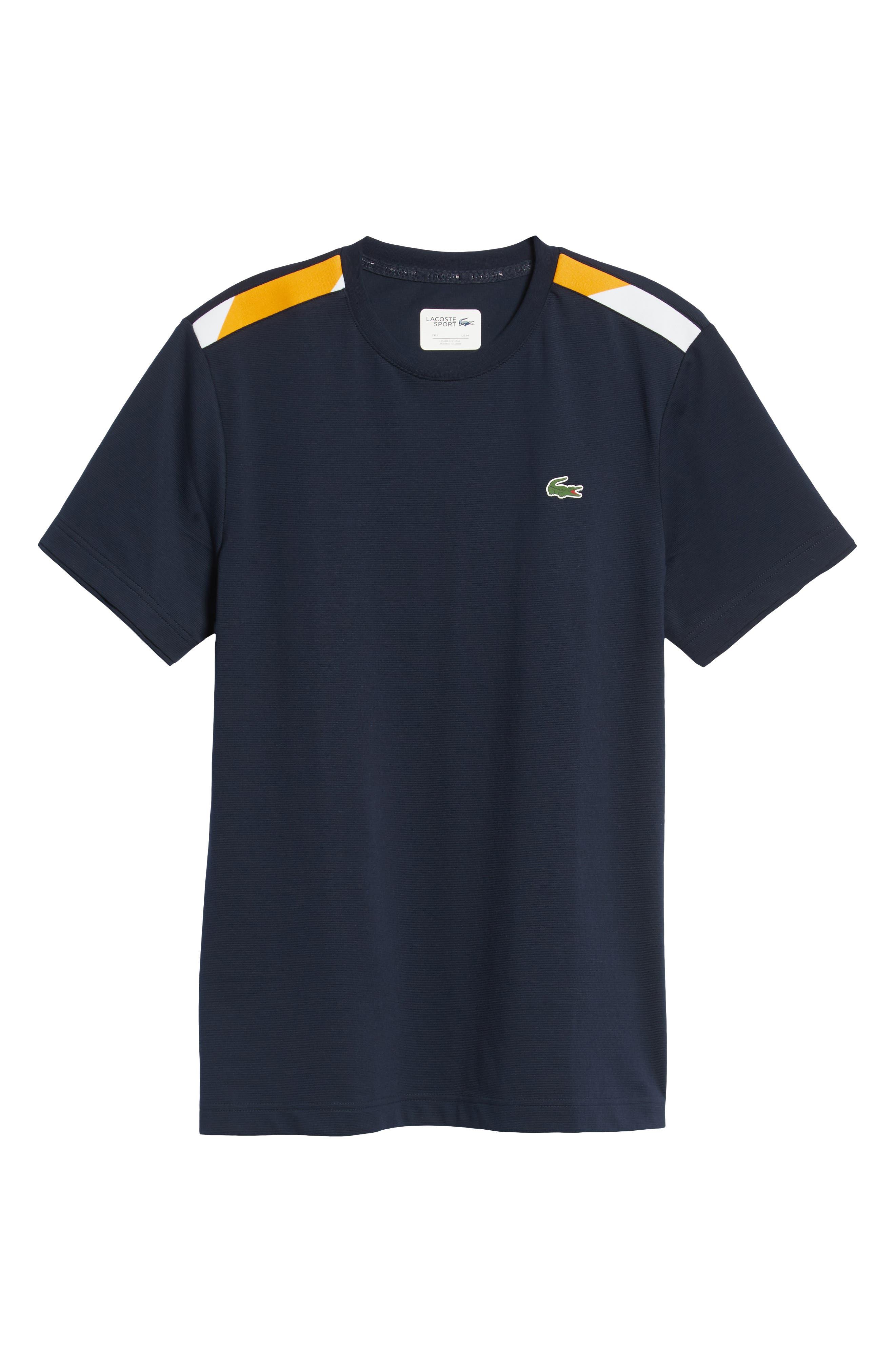 Sport Regular Fit Cotton Tennis T-Shirt,                             Alternate thumbnail 6, color,                             415
