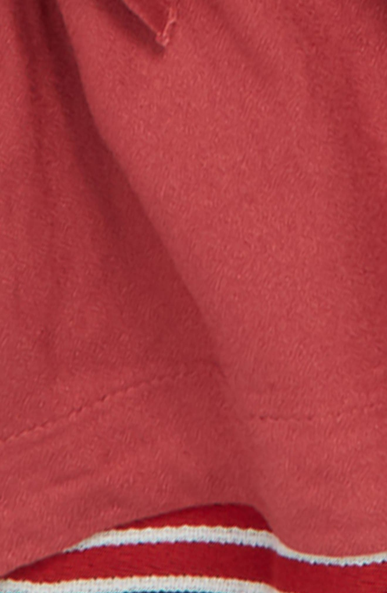 Bell Sleeve Top,                             Alternate thumbnail 3, color,                             RED EARTH