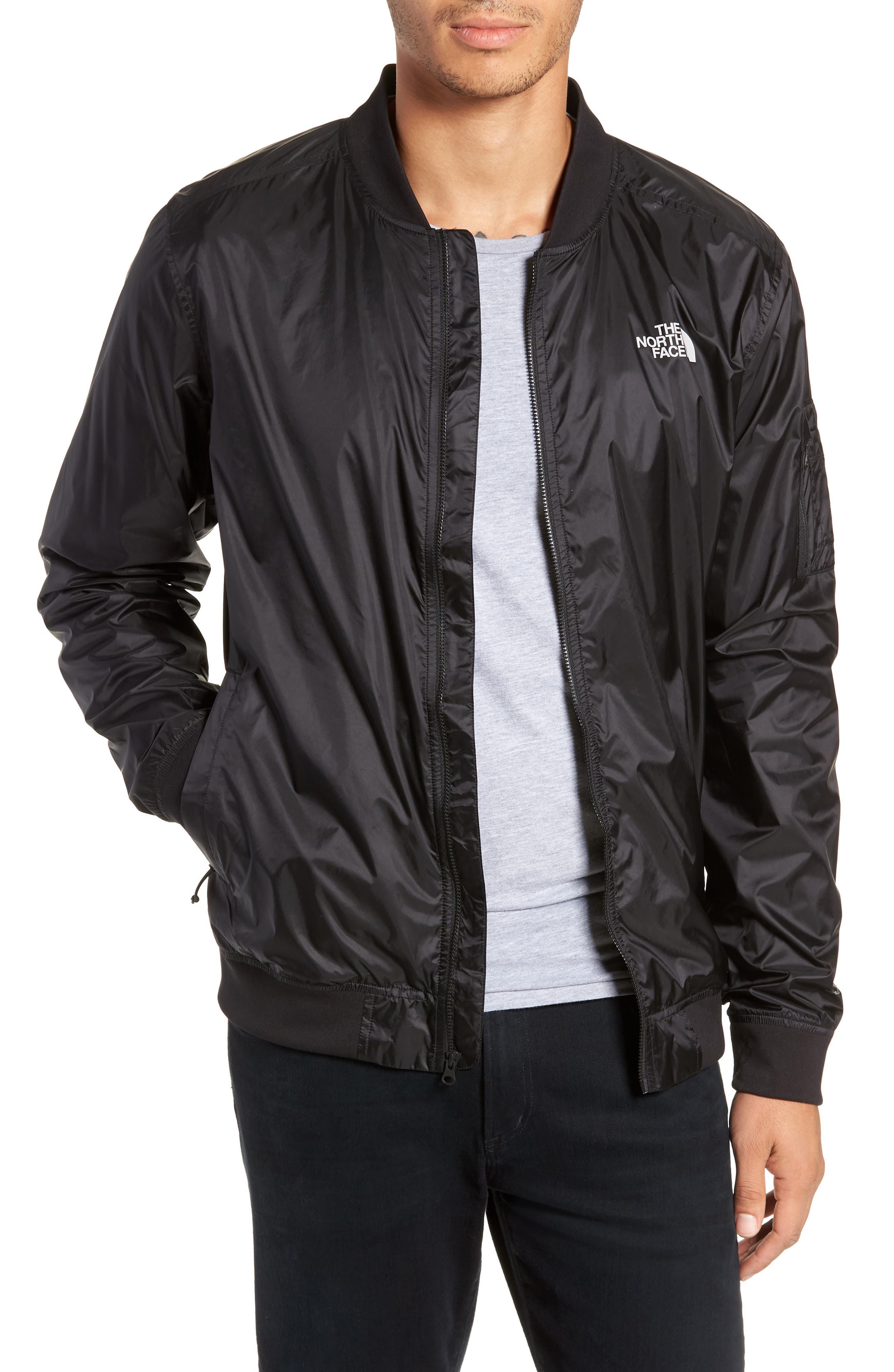 The North Face Meaford Ii Bomber Jacket, Black