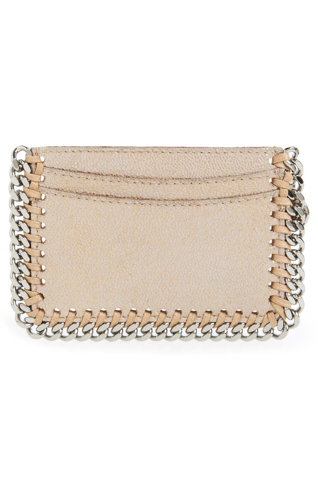 'Falabella - Shaggy Deer' Card Case,                             Alternate thumbnail 2, color,