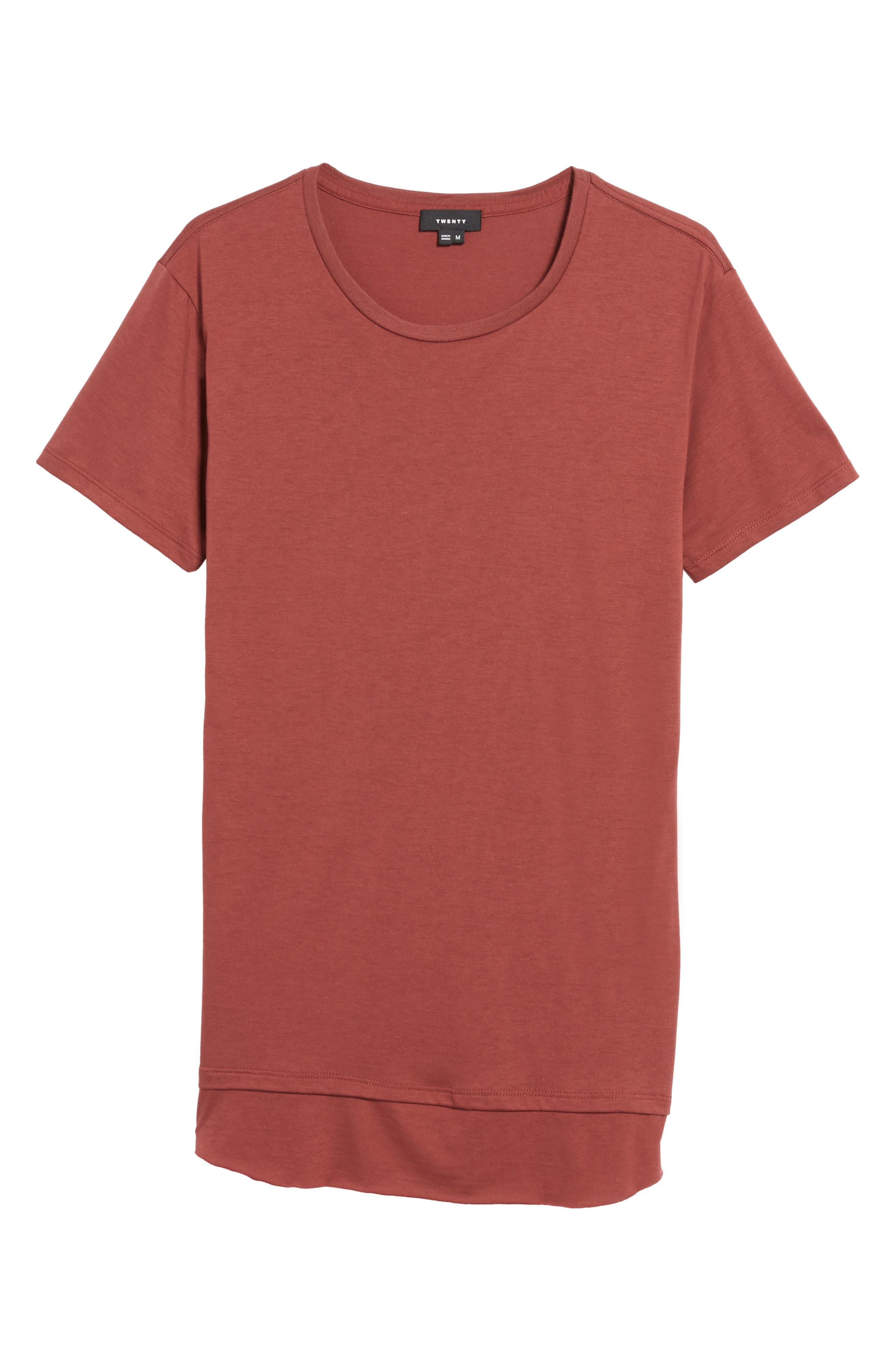 Double Layer T-Shirt,                             Alternate thumbnail 18, color,