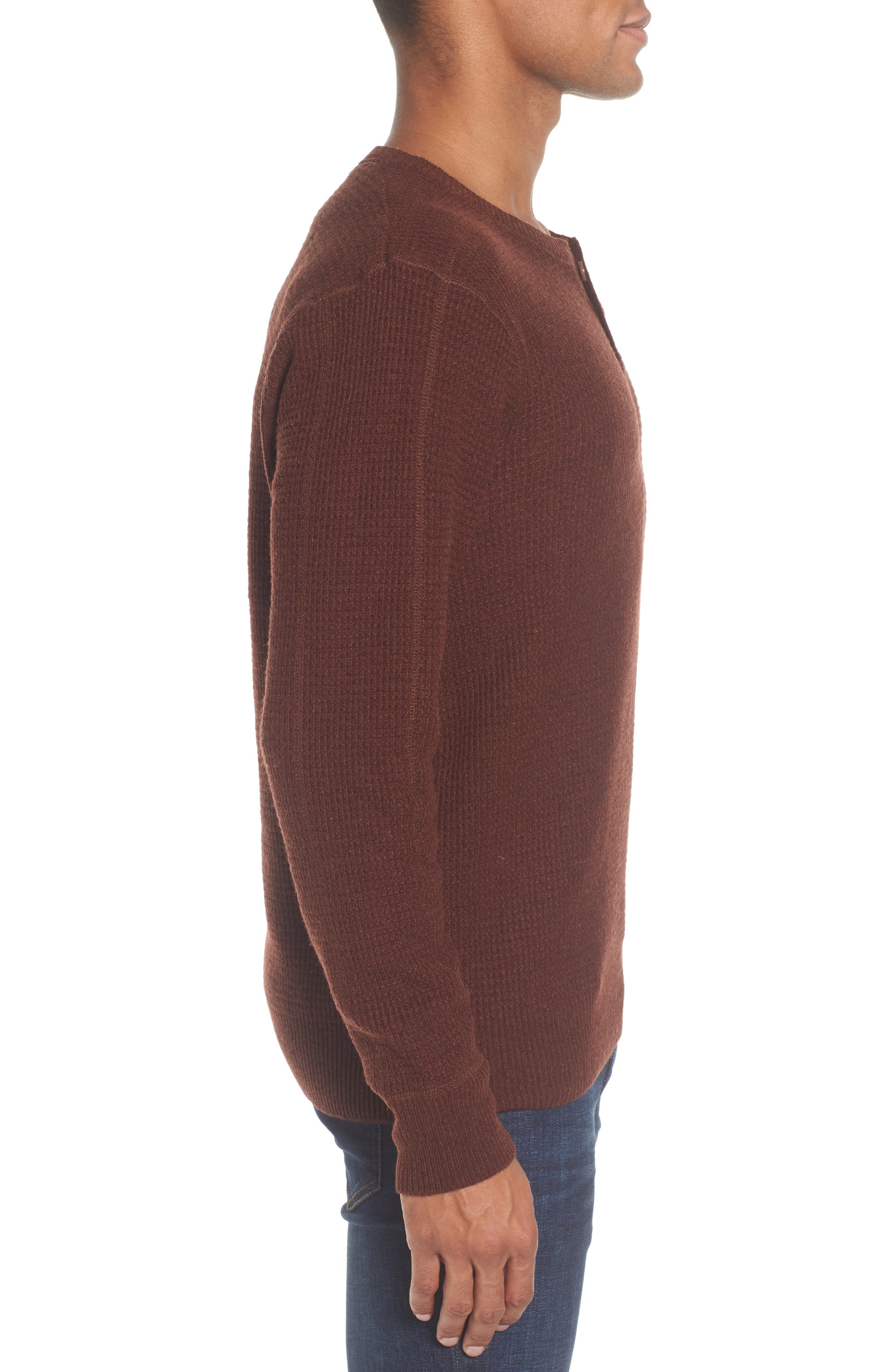 Thermal Henley,                             Alternate thumbnail 17, color,