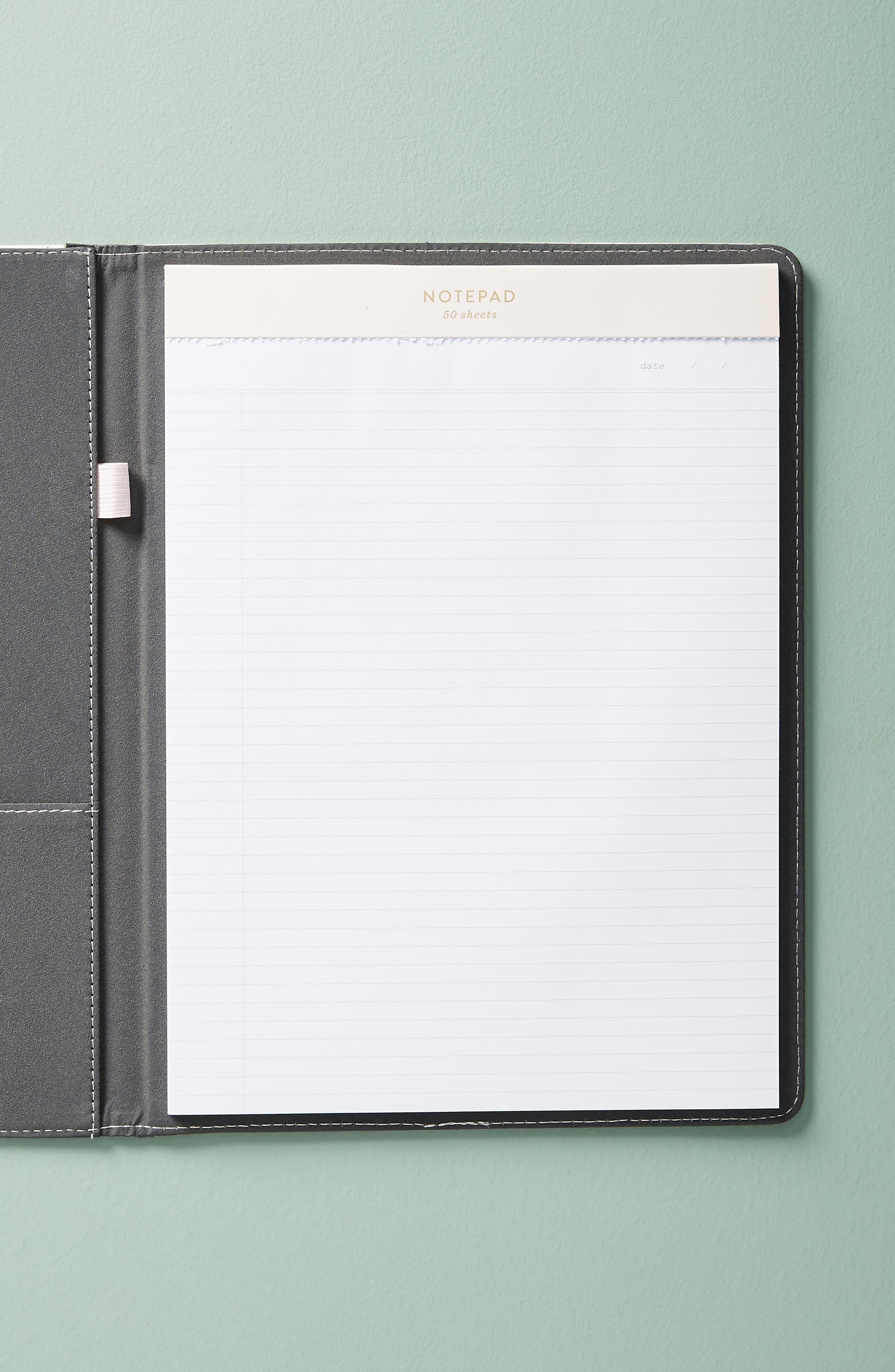 Mila Notepad Folio,                             Alternate thumbnail 2, color,                             650