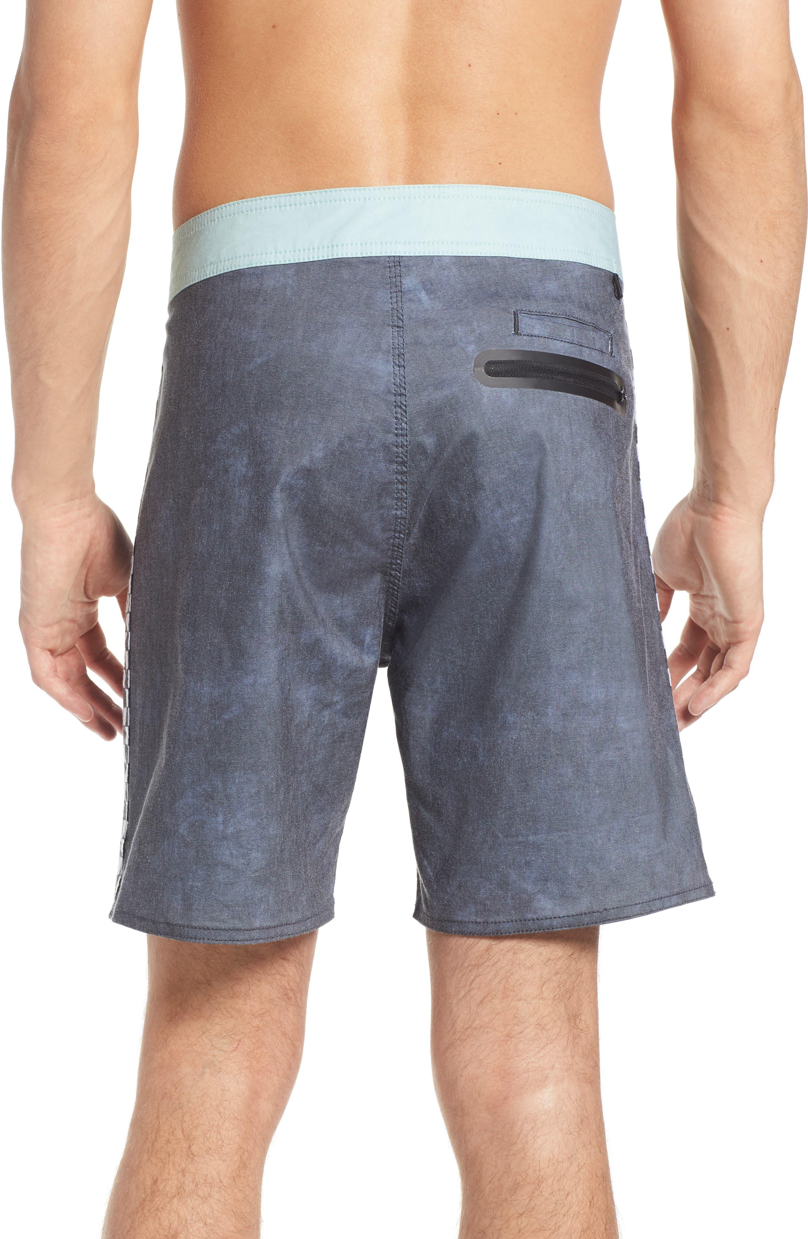 Side Check Board Shorts,                             Alternate thumbnail 2, color,                             001