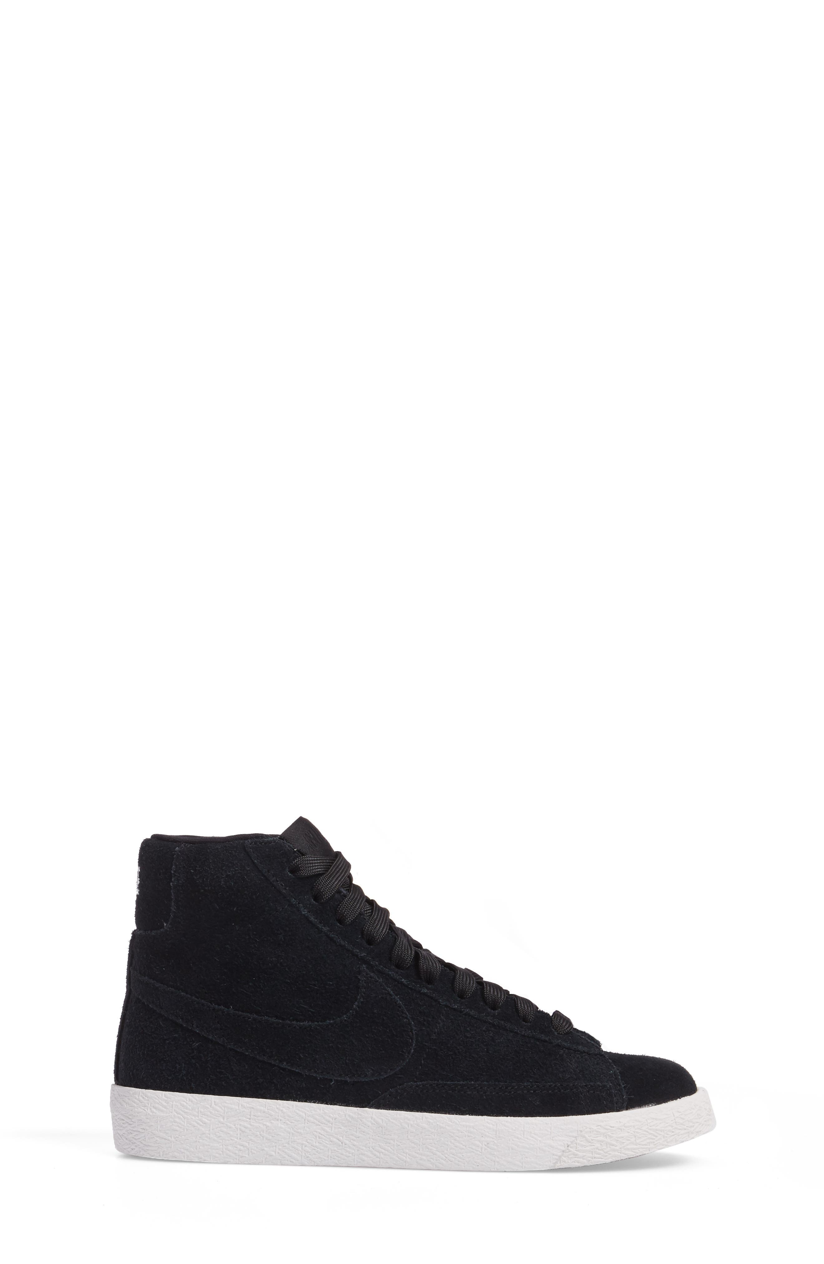 Blazer Mid High Top Sneaker,                             Alternate thumbnail 3, color,                             003