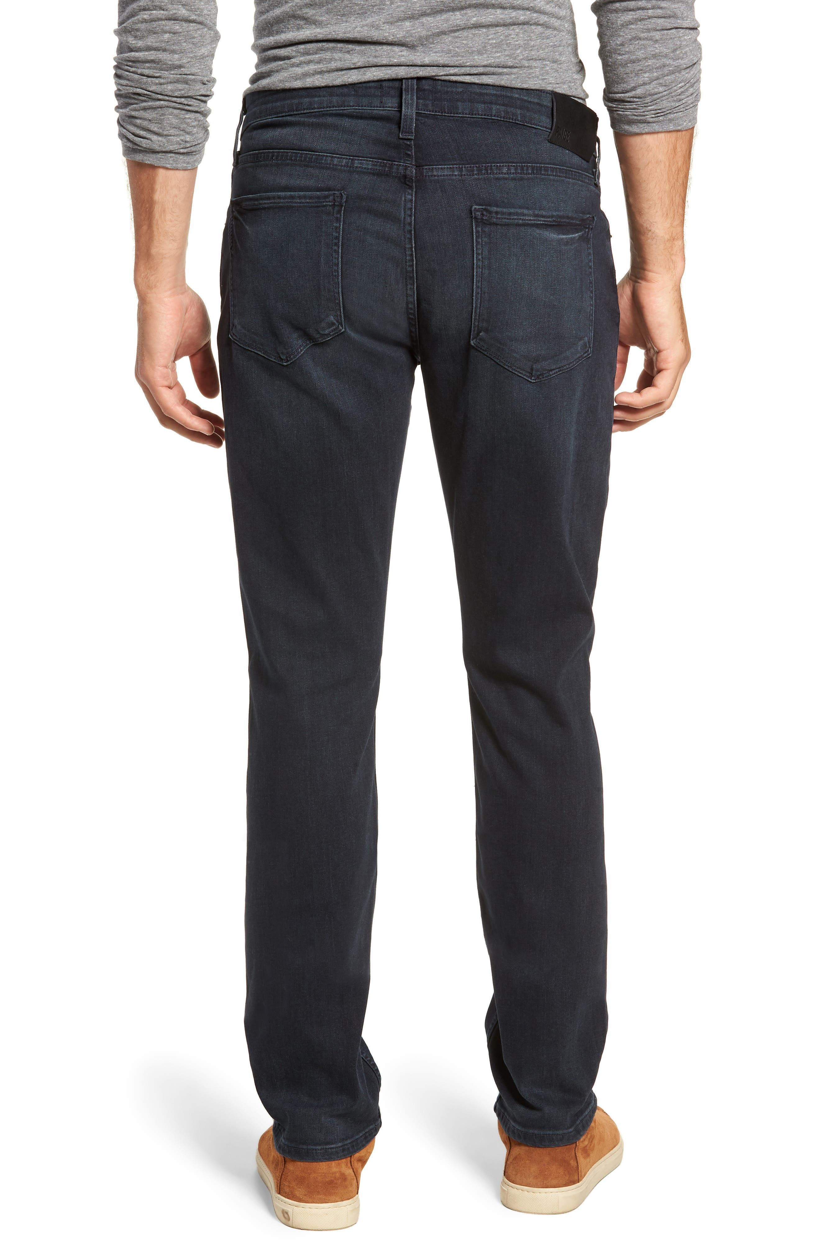 Transcend - Federal Slim Fit Straight Leg Jeans,                             Alternate thumbnail 2, color,                             BECKETT