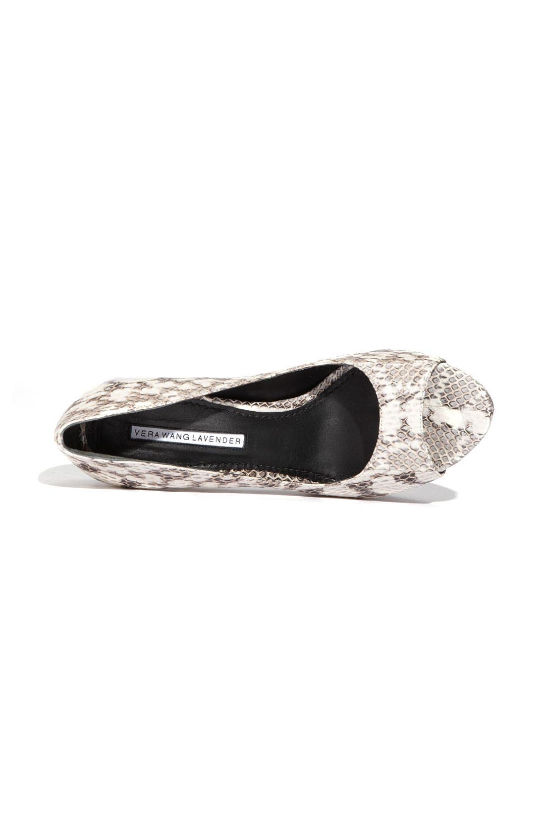 Footwear 'Selima' Peep Toe Pump,                             Alternate thumbnail 10, color,