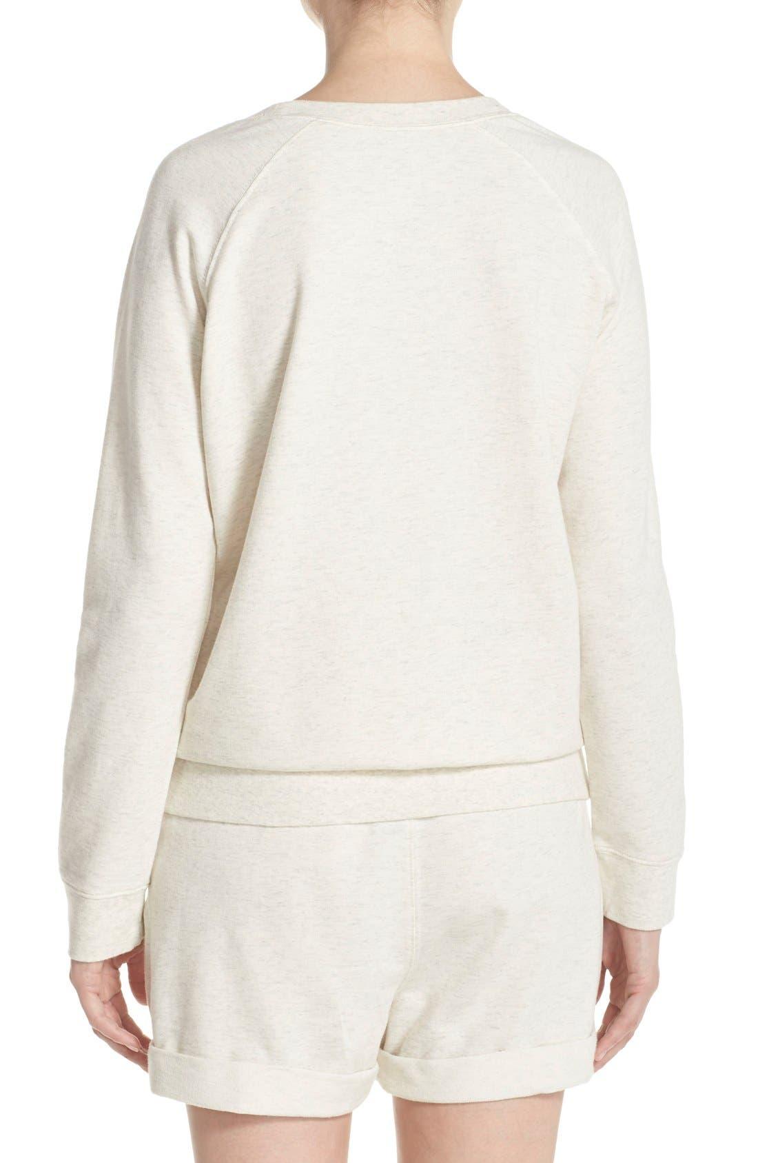 Burnout Lounge Sweatshirt,                             Alternate thumbnail 152, color,