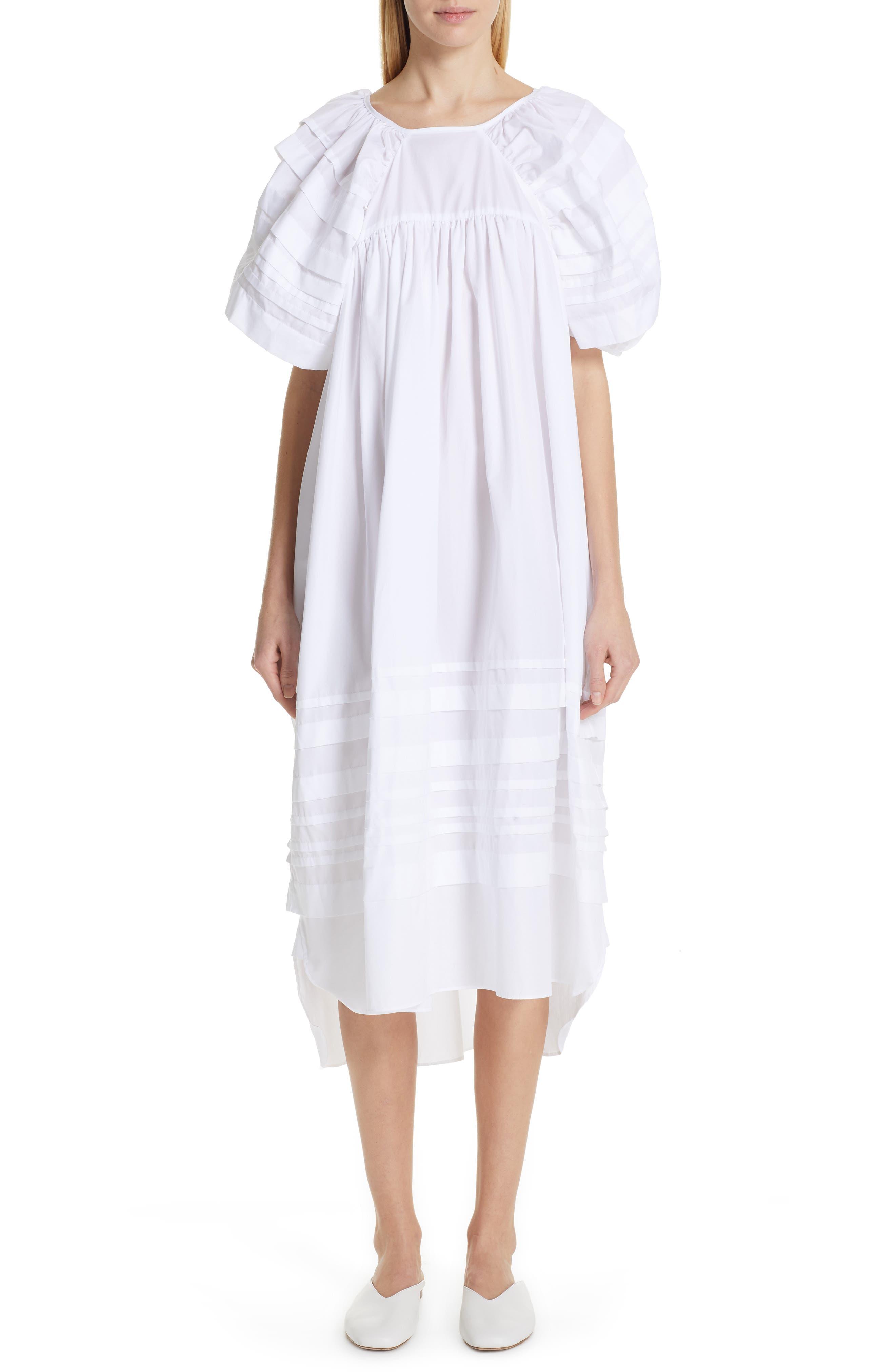 Cecilie Bahnsen Penelope Dress, US / 10 UK - White