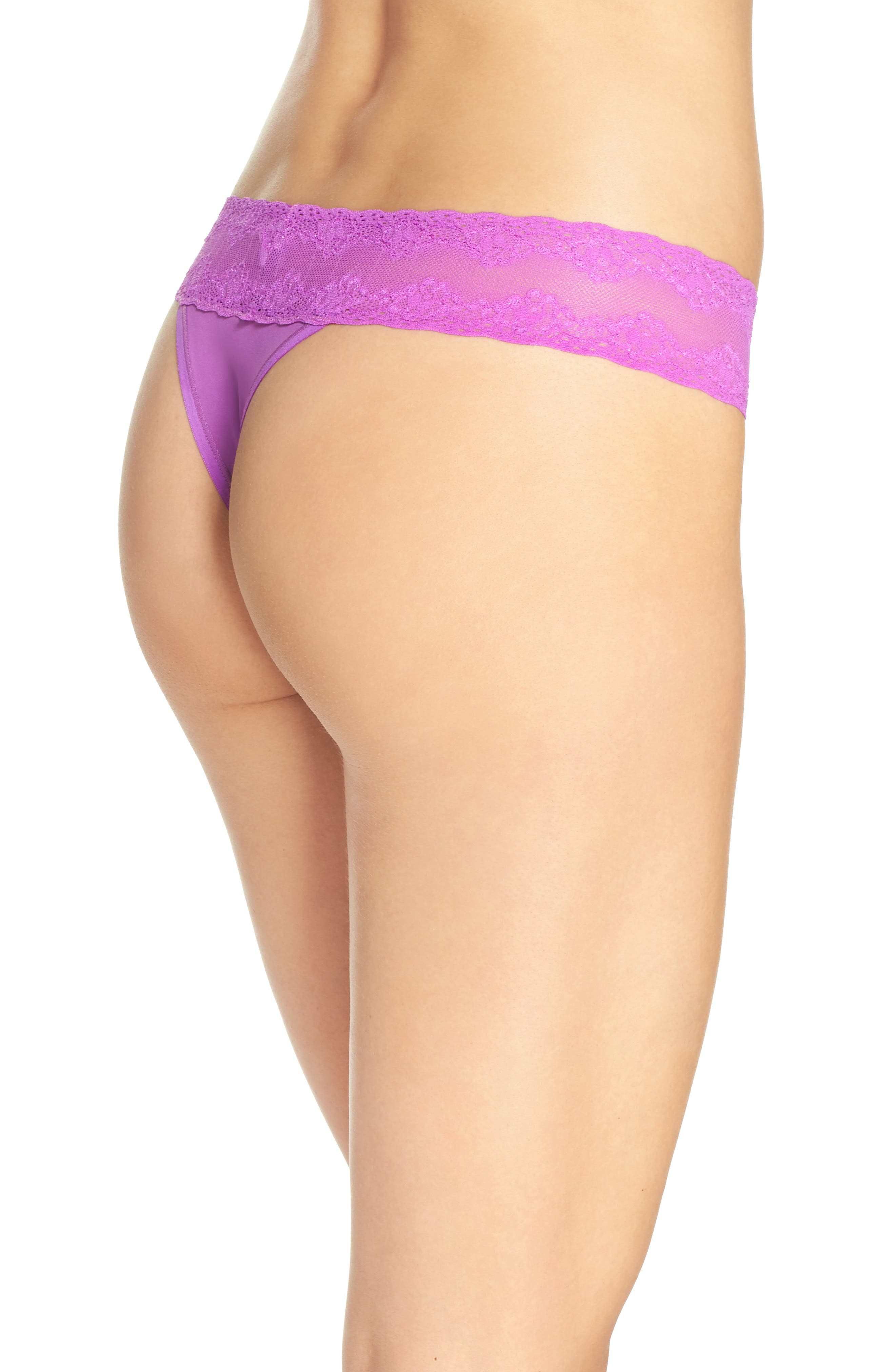 Bliss Perfection Thong,                             Alternate thumbnail 187, color,