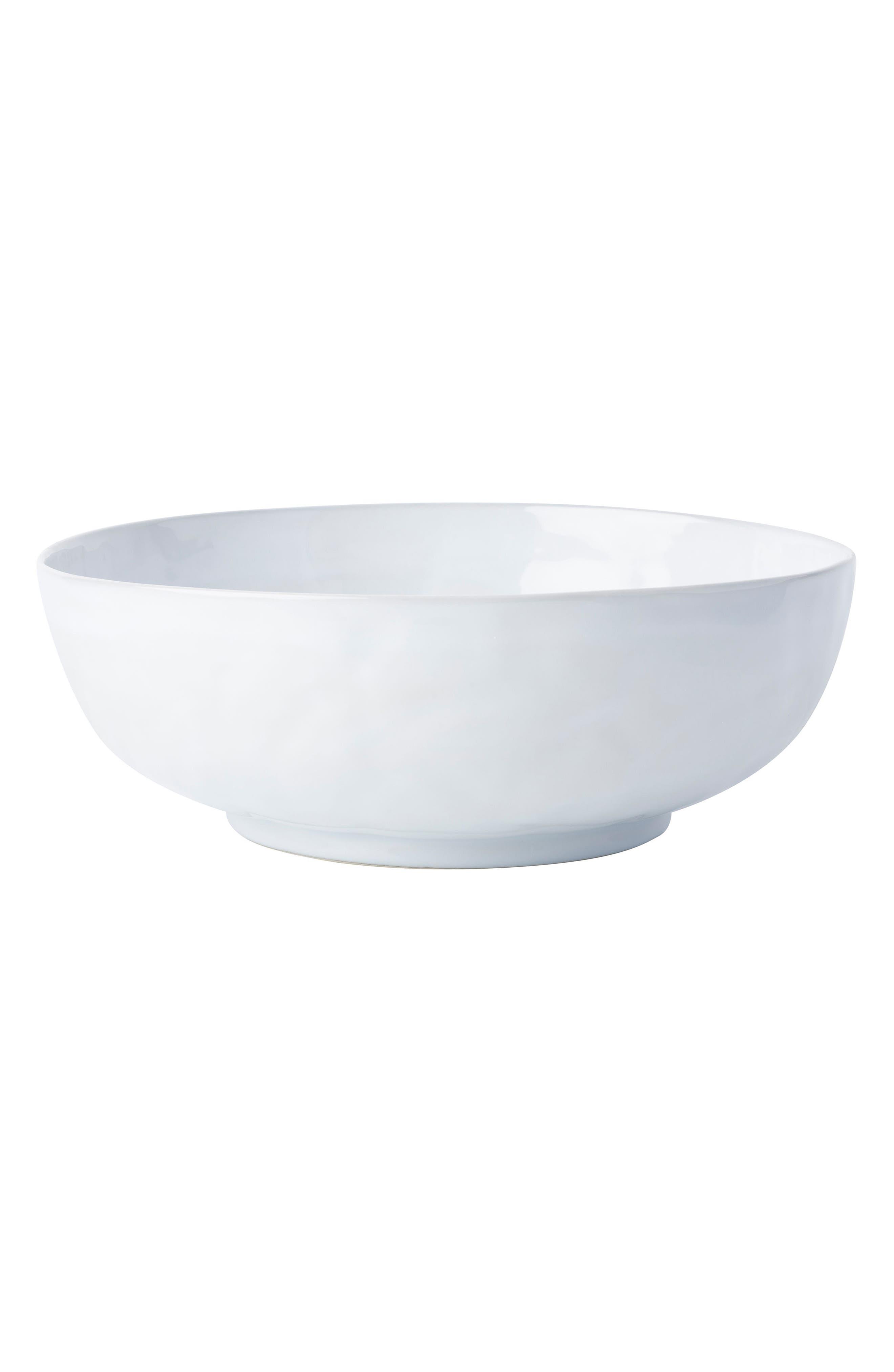 Quotidien White Truffle Serving Bowl,                         Main,                         color, 100