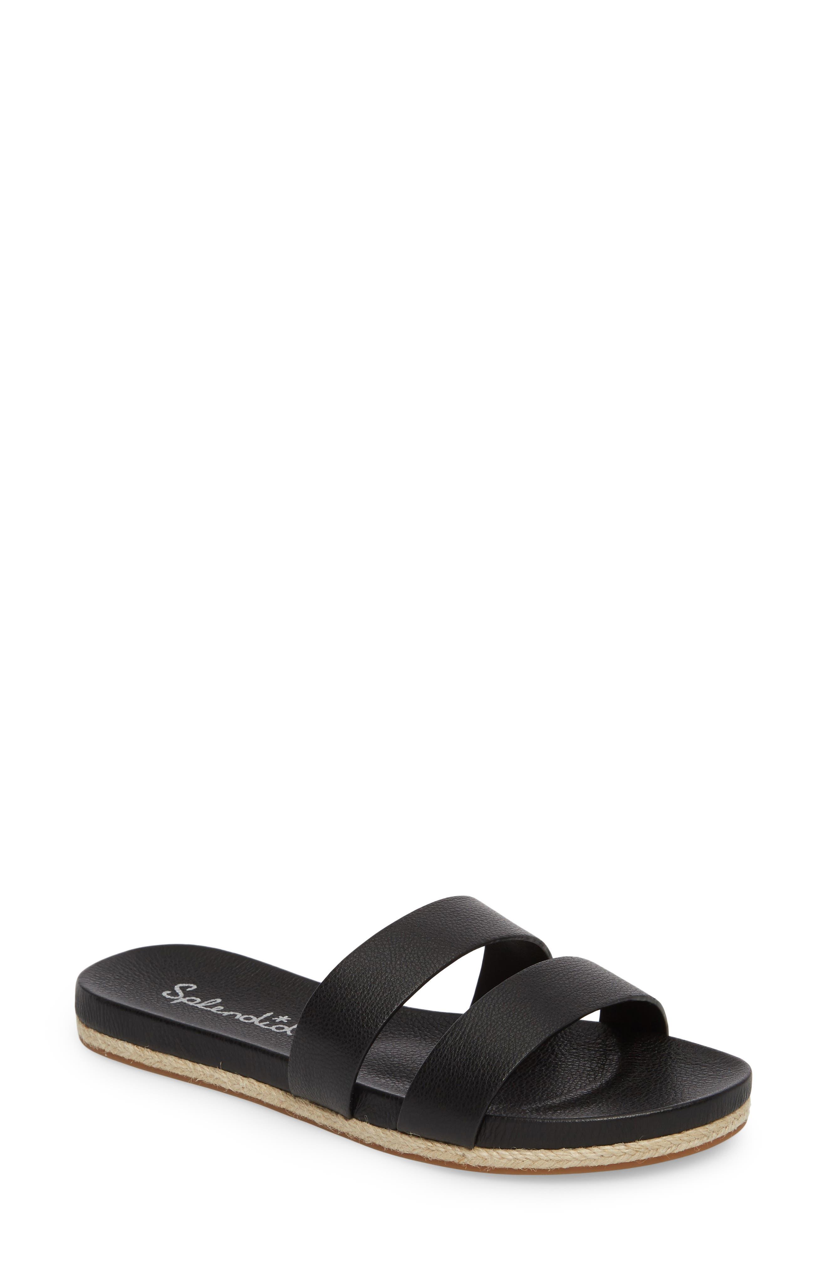 Brittani Slide Sandal,                             Main thumbnail 1, color,                             002