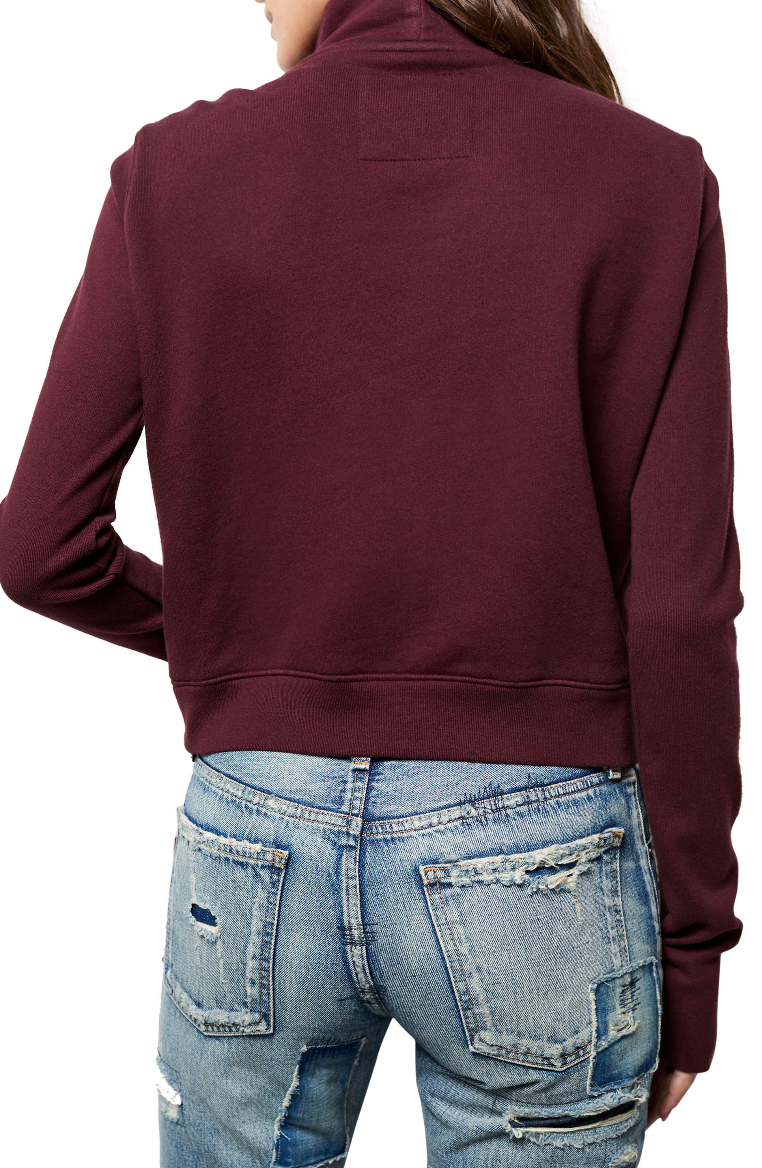 Zip Fleece Jacket,                             Alternate thumbnail 2, color,                             932