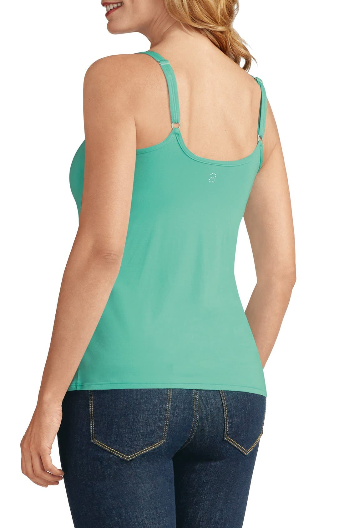 'Valetta' Pocketed Tank,                             Alternate thumbnail 18, color,
