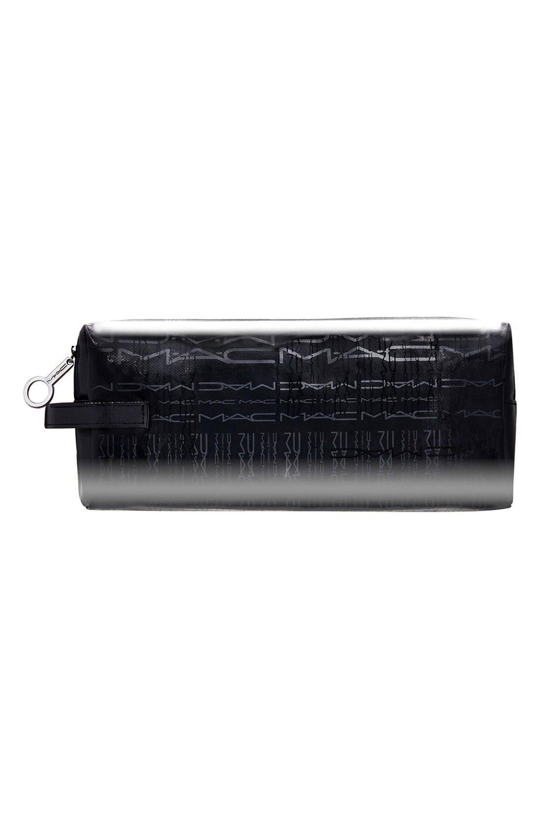 MAC Rectangle/Medium Cosmetics Case,                             Main thumbnail 1, color,                             000