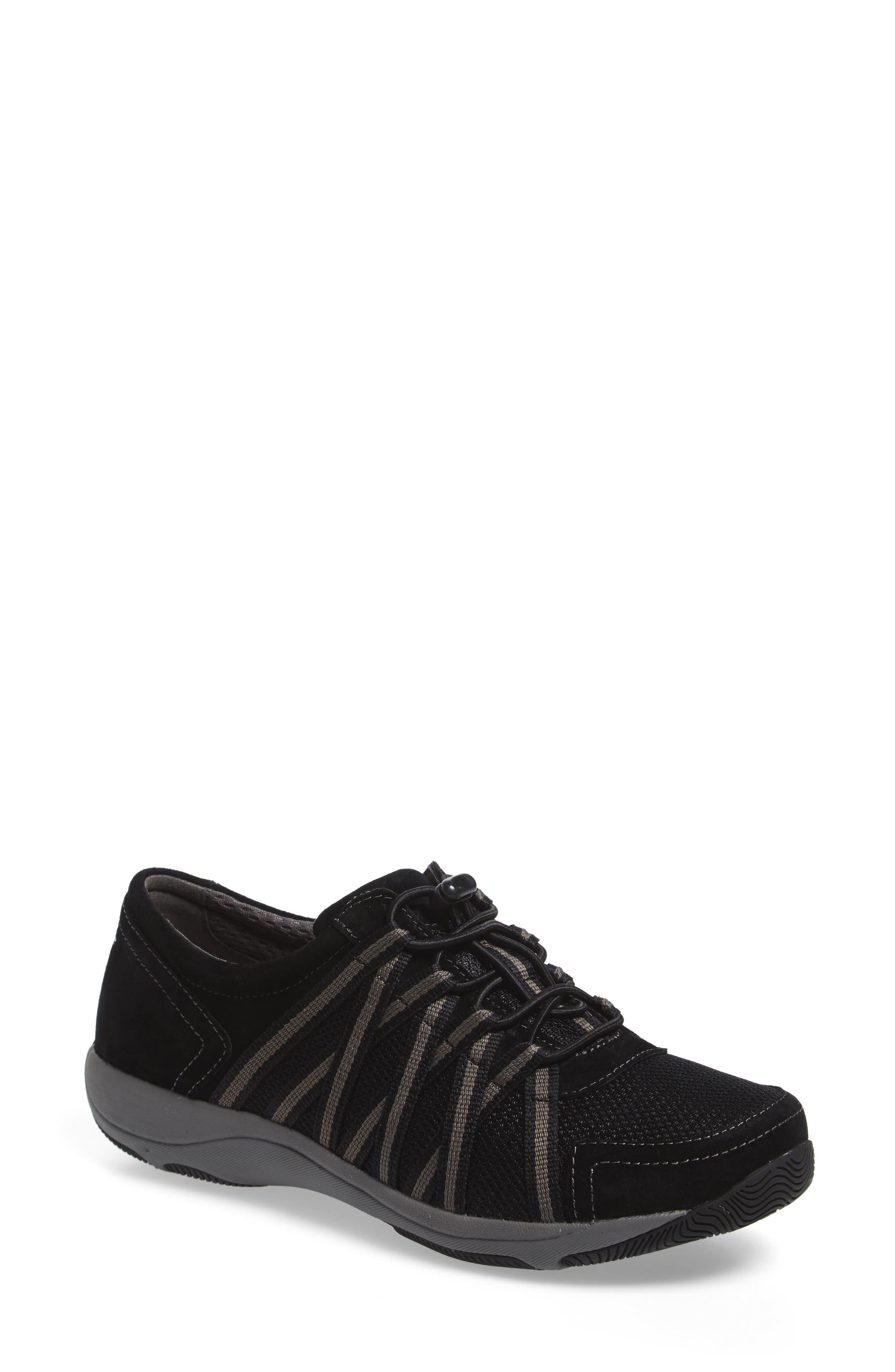 Halifax Collection Honor Sneaker,                         Main,                         color, BLACK/ BLACK SUEDE