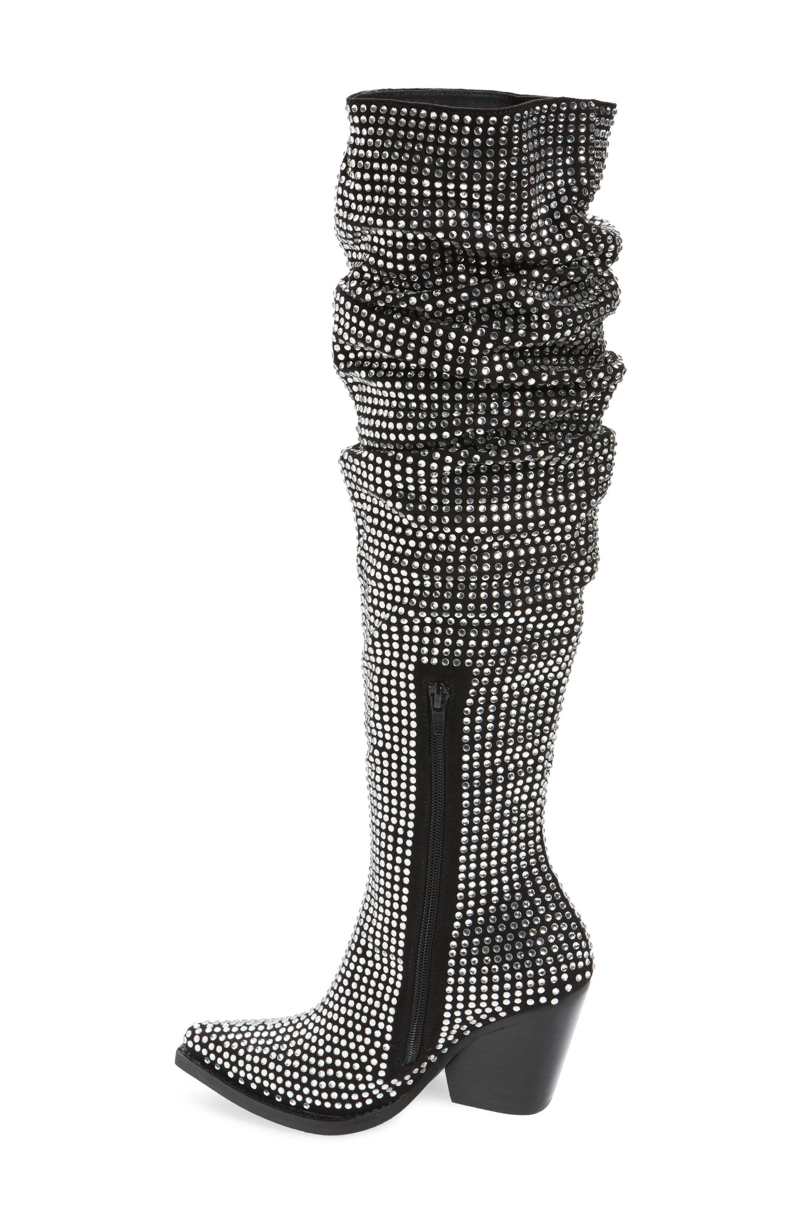 Controlla Slouch Over the Knee Boot,                             Alternate thumbnail 2, color,                             007