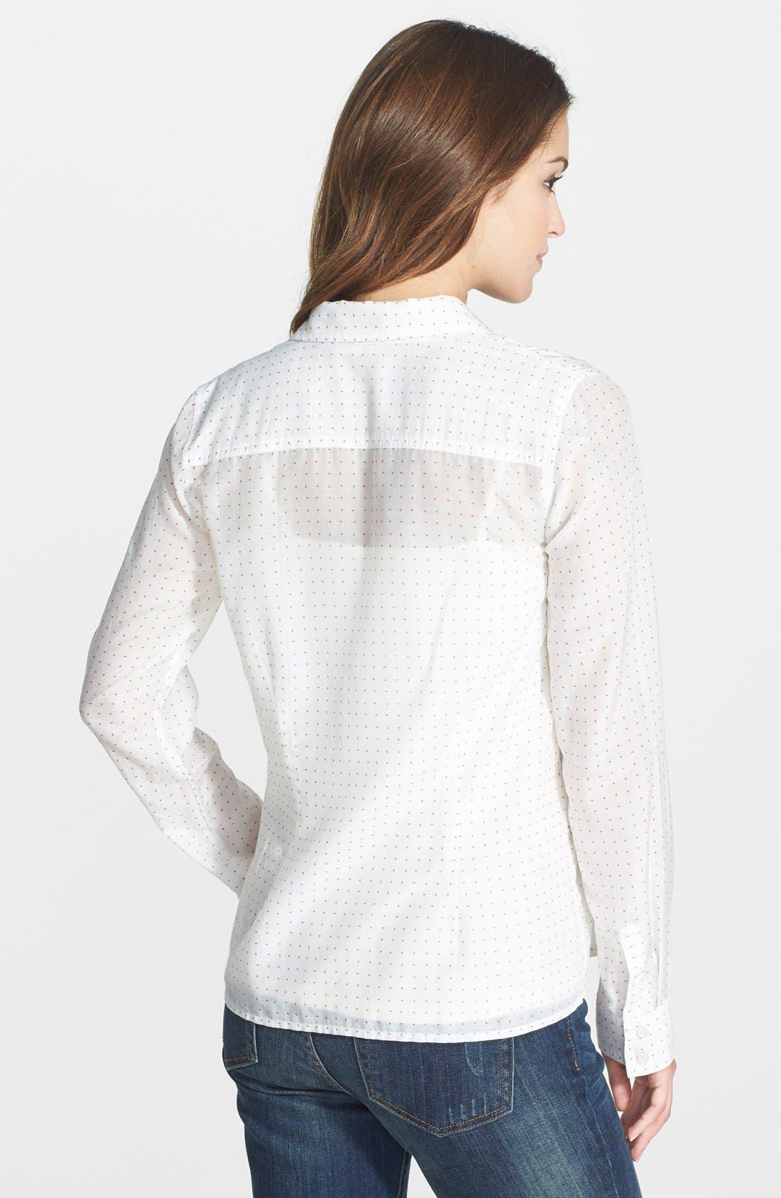 Cotton & Silk Shirt,                             Alternate thumbnail 170, color,
