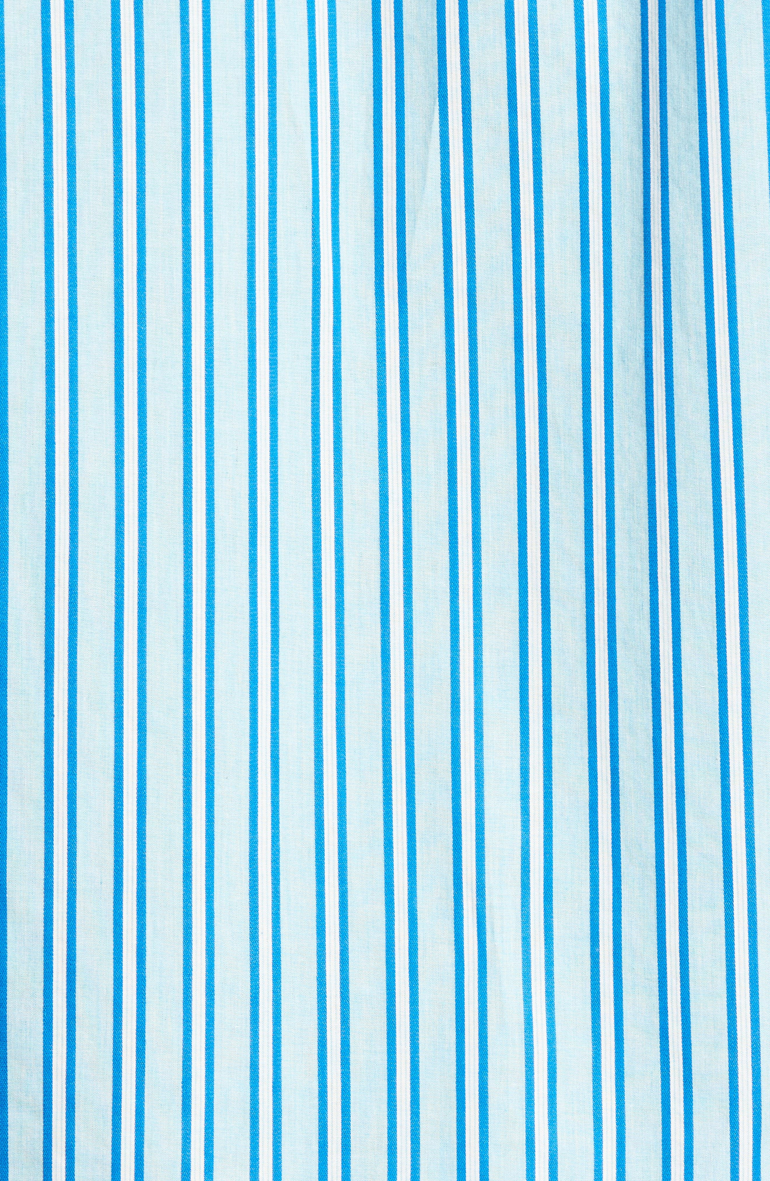 Surf the Line Stripe Sport Shirt,                             Alternate thumbnail 5, color,                             400