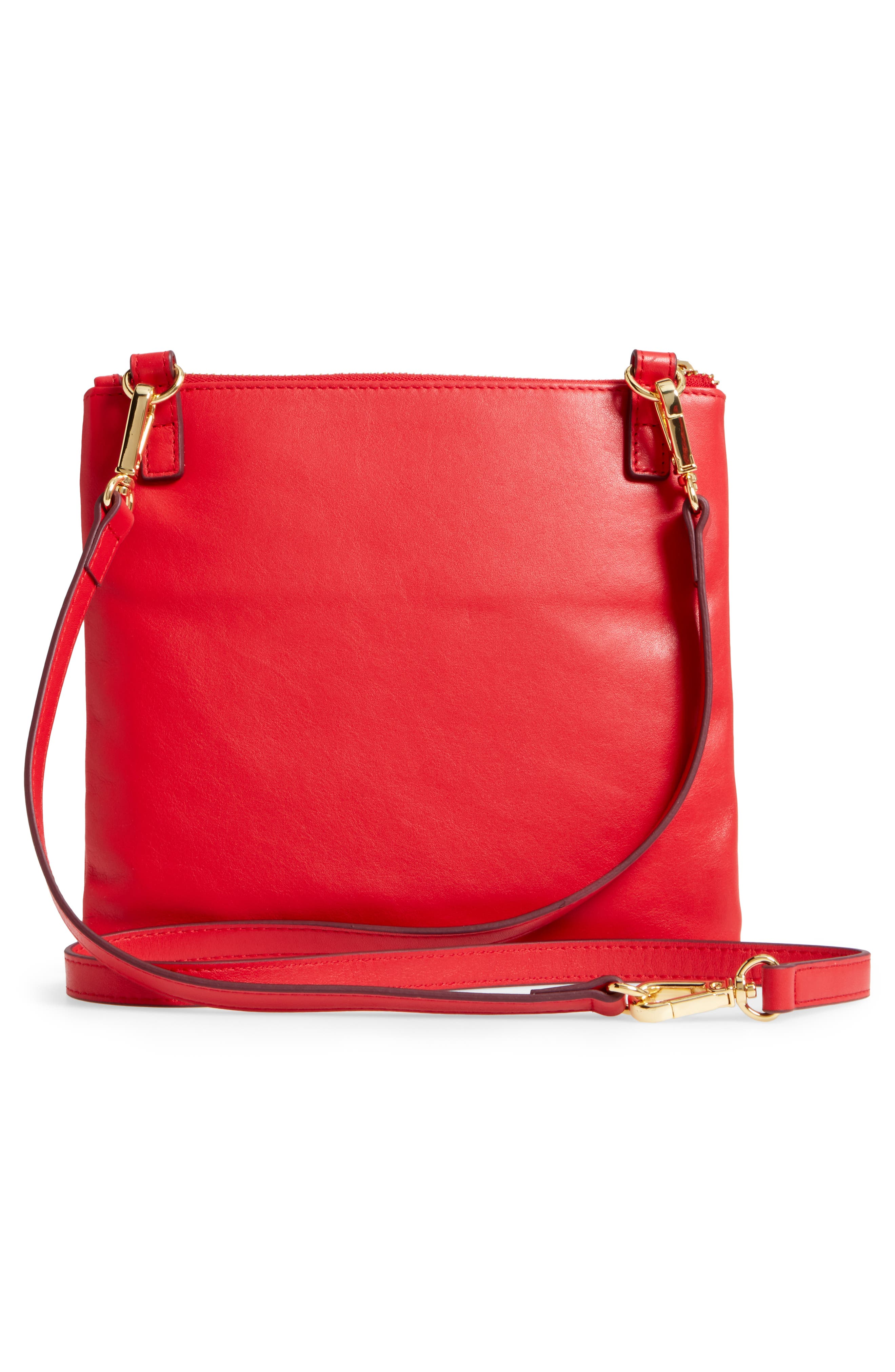 Downtown Latisha RFID Leather Crossbody,                             Alternate thumbnail 12, color,