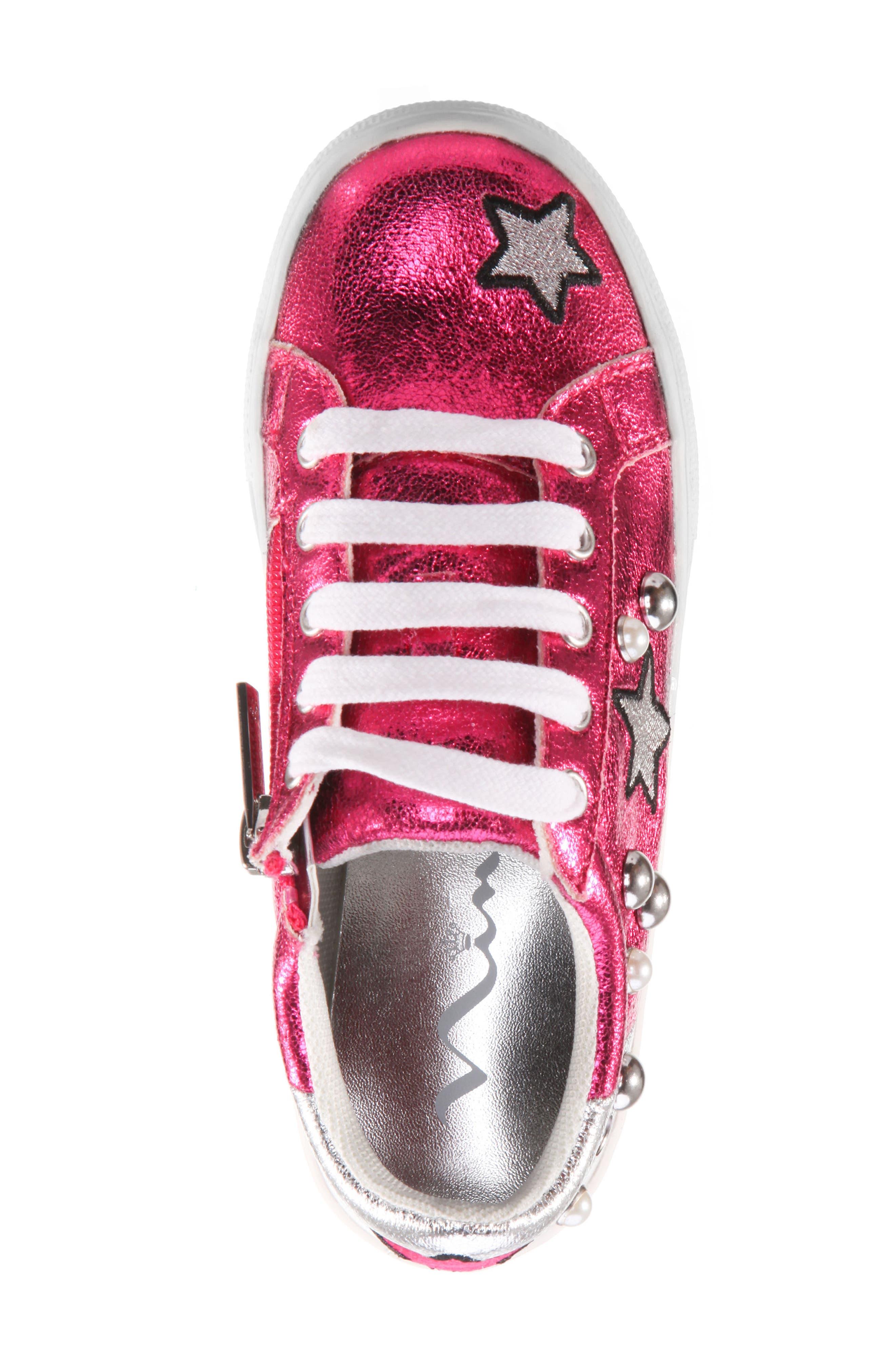 Kryslyn Metallic Sneaker,                             Alternate thumbnail 5, color,                             694