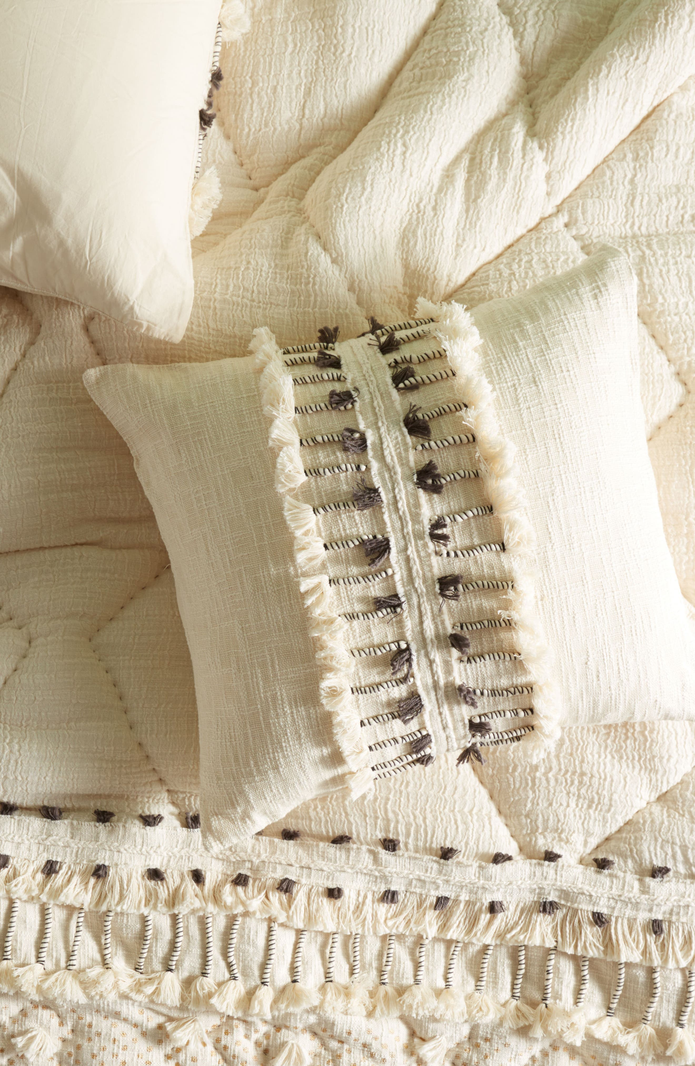 Tufted Pointilliste Euro Sham,                         Main,                         color, 250